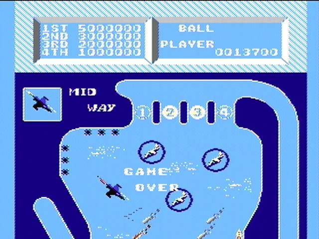 derek: Fairy Pinball: Midway (NES/Famicom) 13,700 points on 2016-02-06 22:47:12