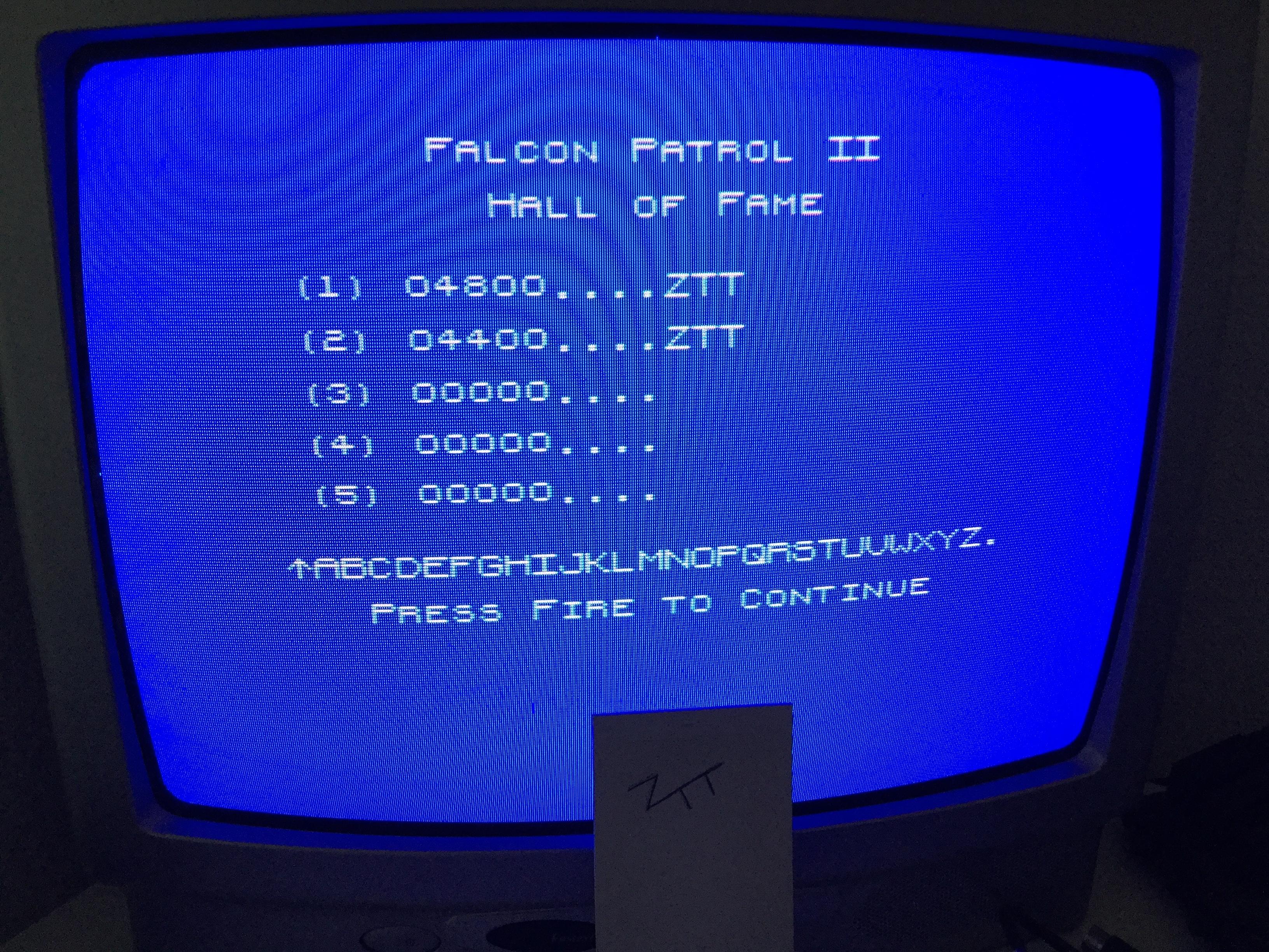 Frankie: Falcon Patrol 2 (ZX Spectrum) 4,800 points on 2017-09-24 05:36:35