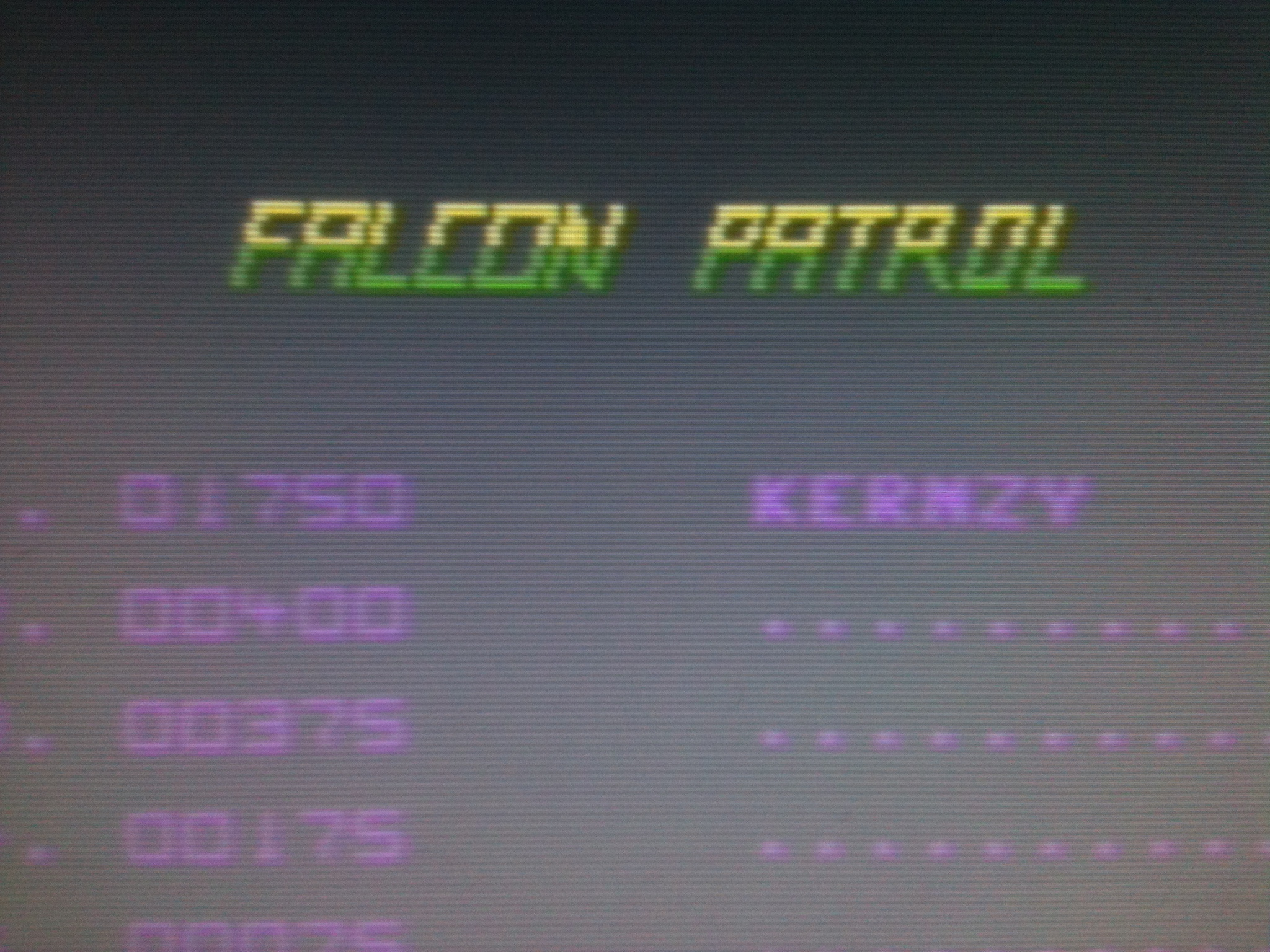 kernzy: Falcon Patrol (Commodore 64 Emulated) 1,750 points on 2015-11-19 17:16:19