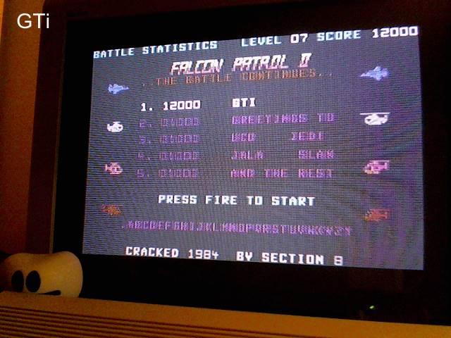 GTibel: Falcon Patrol II (Commodore 64) 12,000 points on 2016-12-26 02:56:06