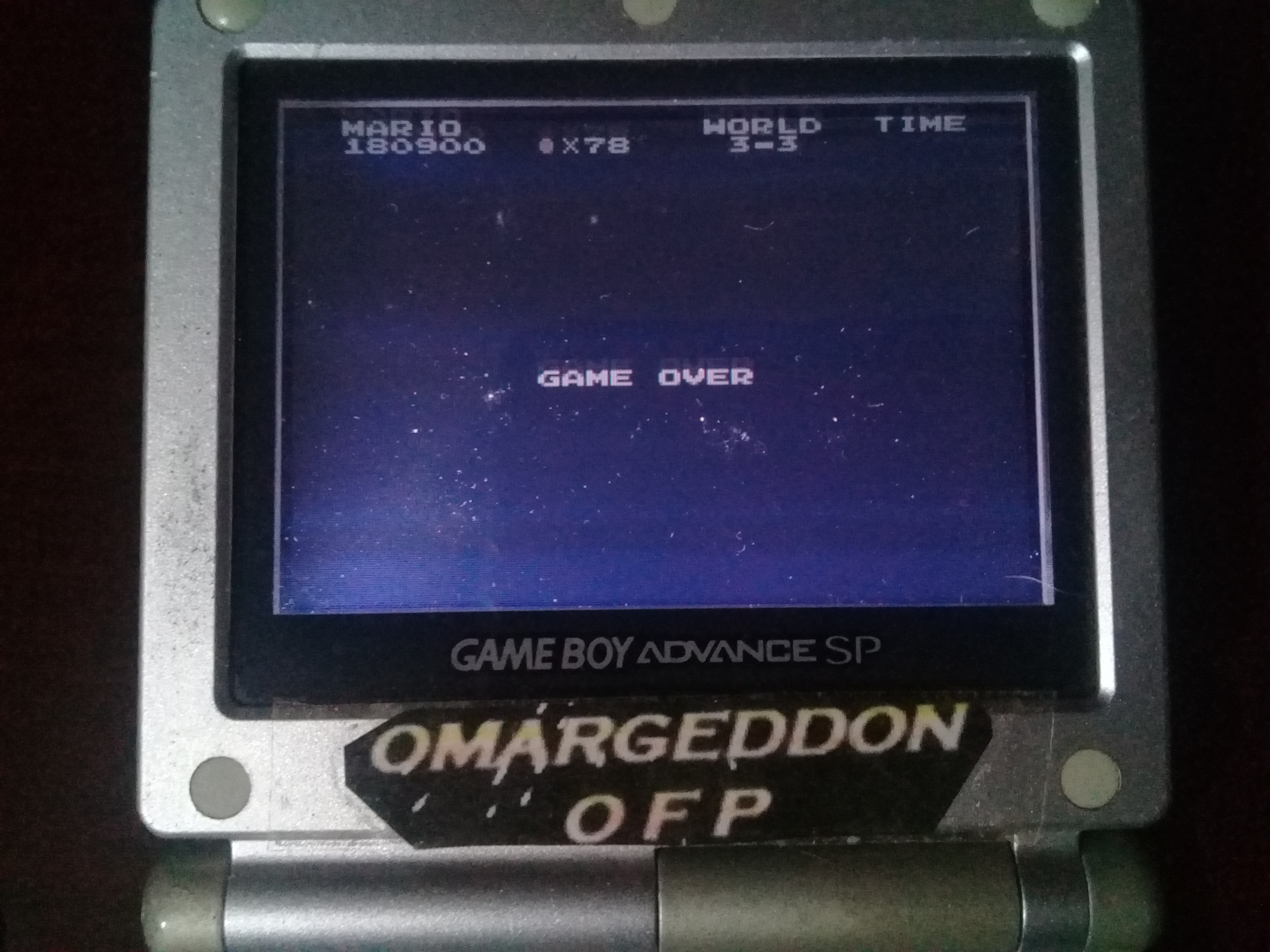 omargeddon: Famicom Mini: Vol. 1: Super Mario Bros. (GBA) 180,900 points on 2019-10-27 20:02:23