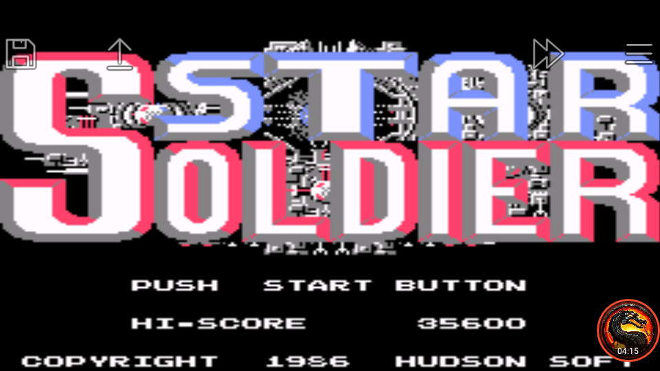 omargeddon: Famicom Mini Vol. 10: Star Soldier (GBA Emulated) 35,600 points on 2019-12-30 16:56:25
