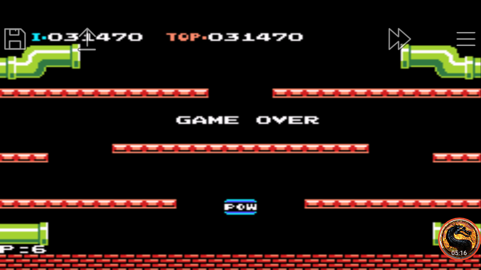 omargeddon: Famicom Mini Vol. 11: Mario Bros. (GBA Emulated) 31,470 points on 2019-12-05 21:50:38