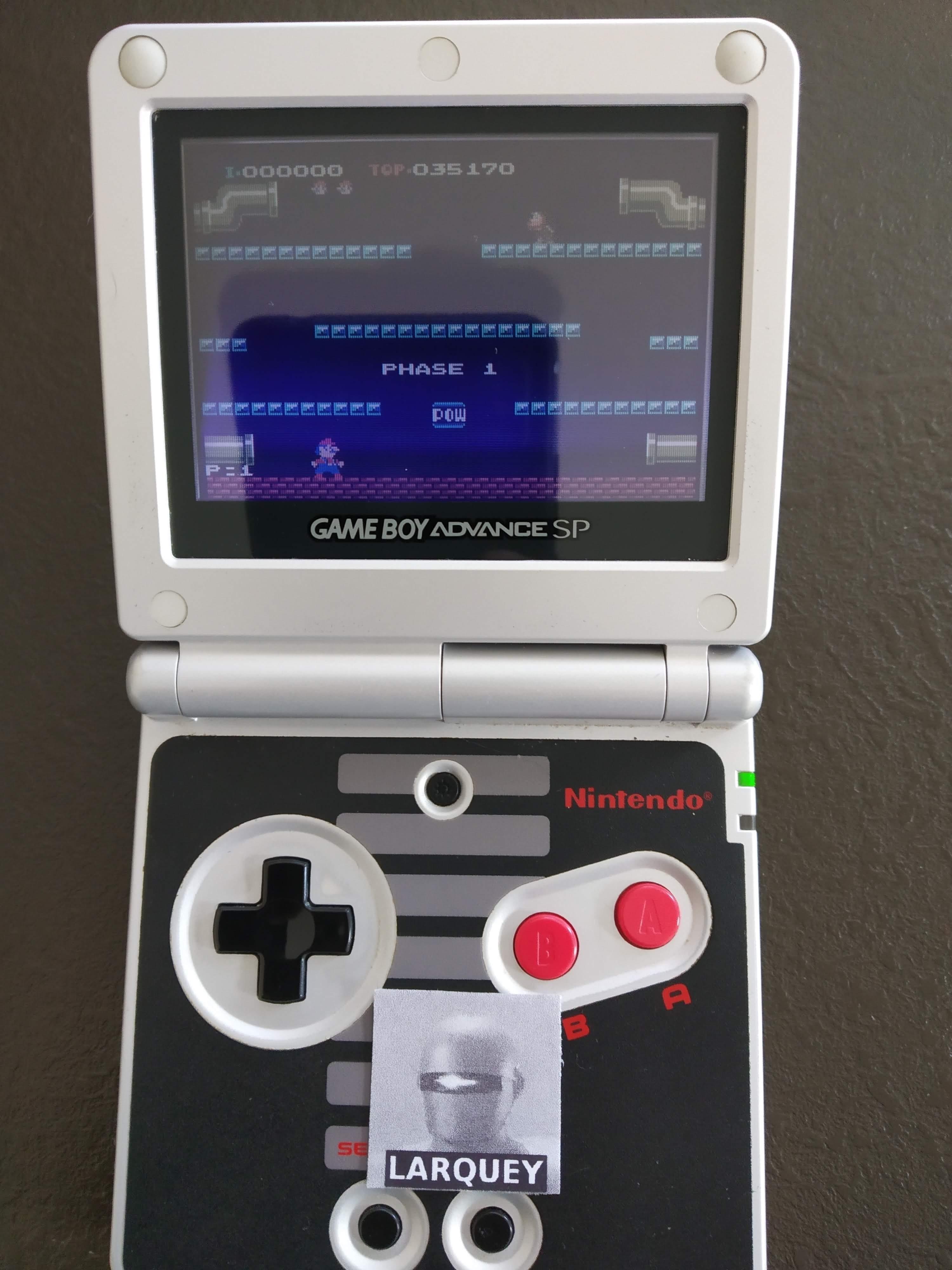 Famicom Mini Vol. 11: Mario Bros. 35,170 points