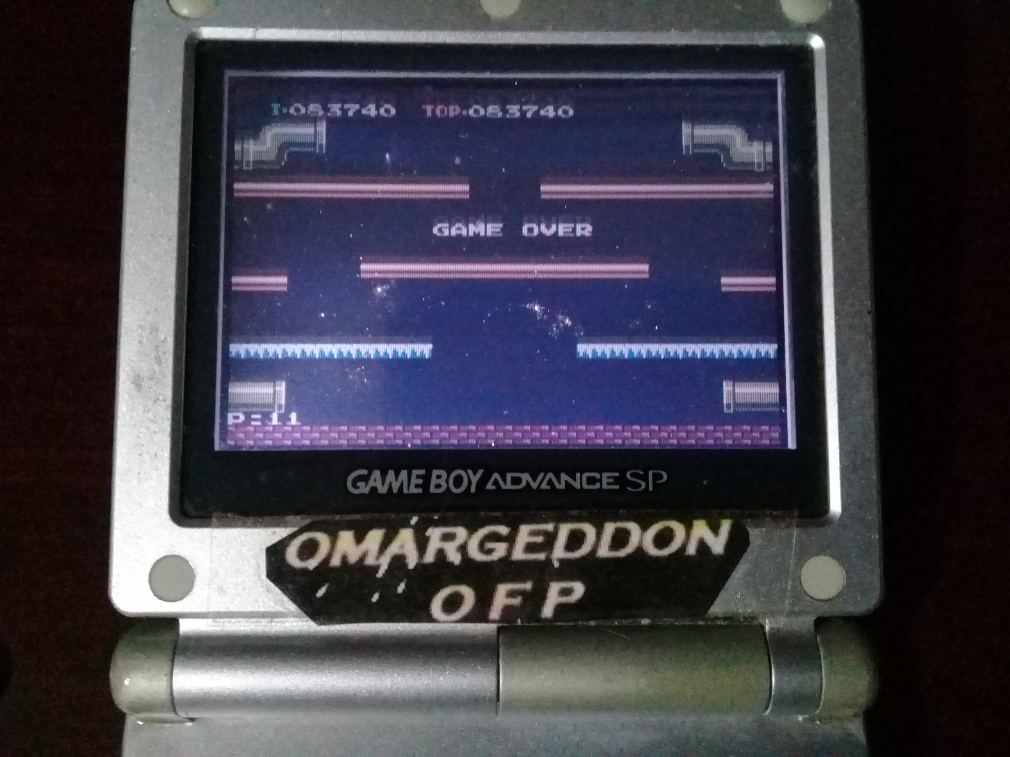 omargeddon: Famicom Mini Vol. 11: Mario Bros. (GBA) 83,740 points on 2020-04-05 19:57:54