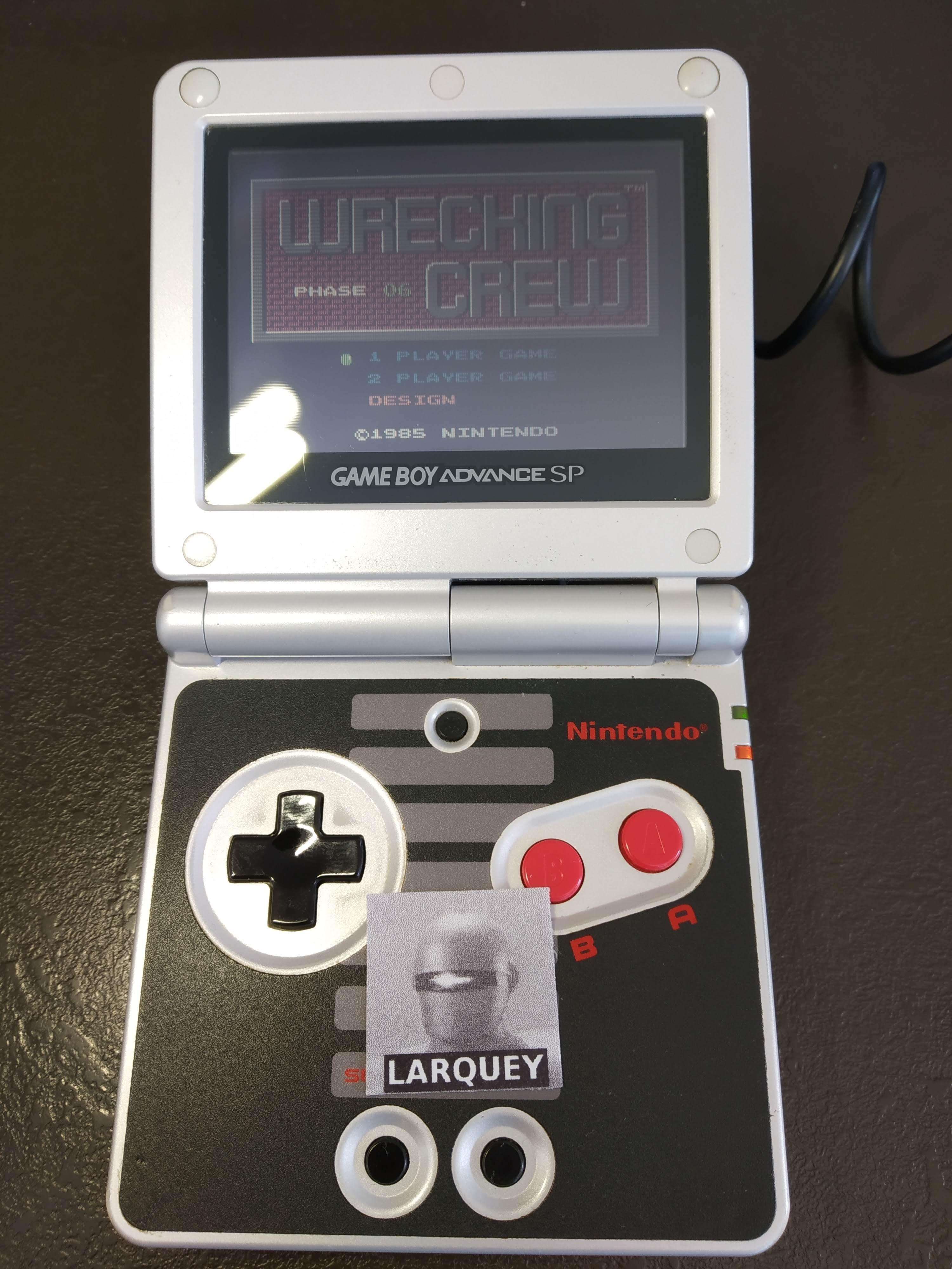 Larquey: Famicom Mini Vol. 14: Wrecking Crew (GBA) 41,600 points on 2019-12-27 06:49:14