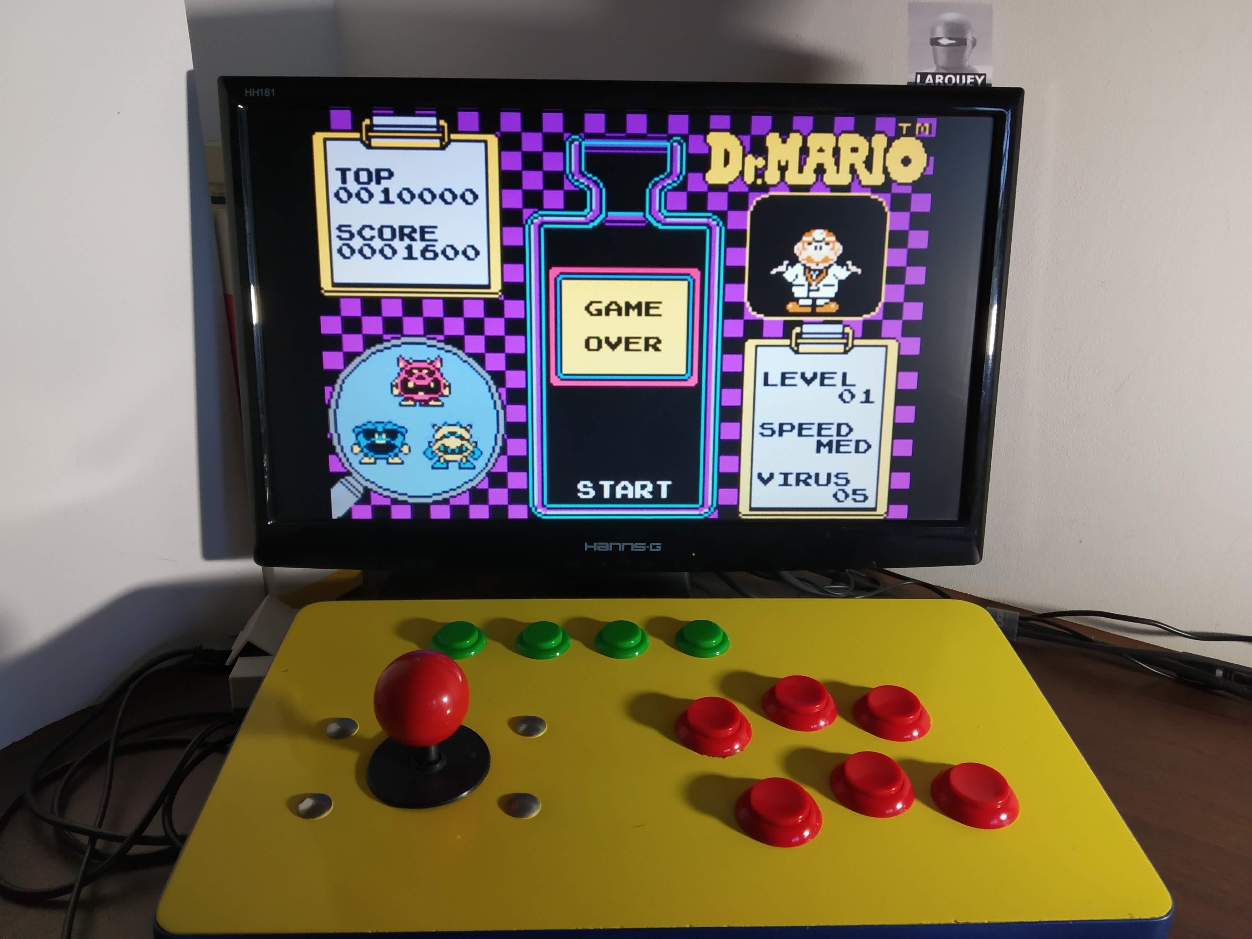 Larquey: Famicom Mini Vol. 15: Dr. Mario (GBA Emulated) 1,600 points on 2019-12-21 16:13:22
