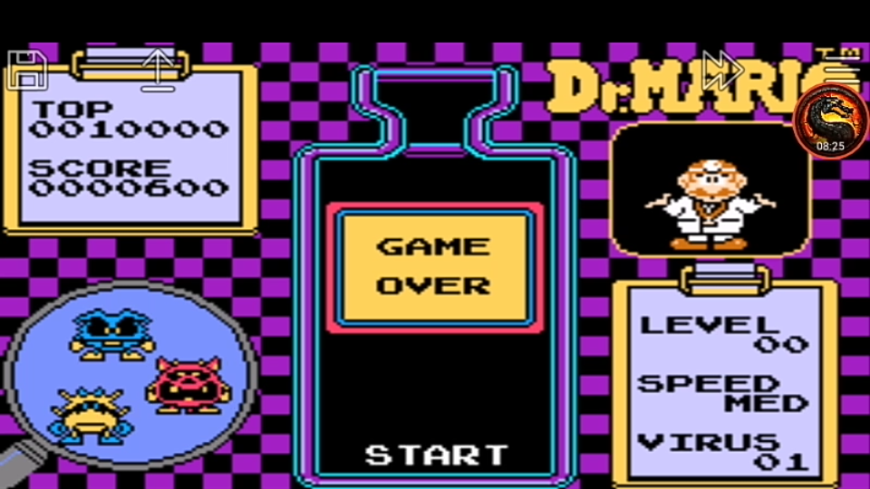 omargeddon: Famicom Mini Vol. 15: Dr. Mario (GBA Emulated) 600 points on 2020-06-27 20:31:25