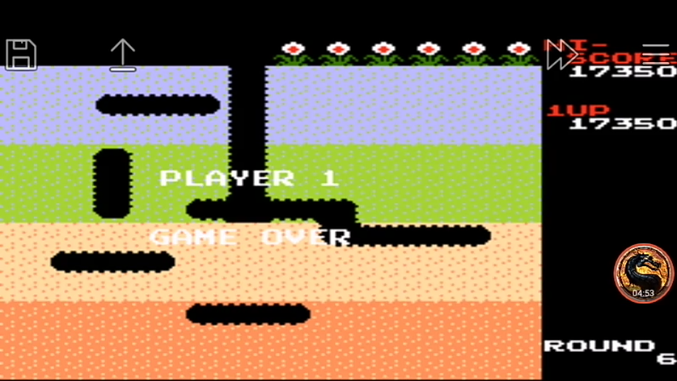 omargeddon: Famicom Mini Vol. 16: Dig Dug (GBA Emulated) 17,350 points on 2019-12-05 08:40:10