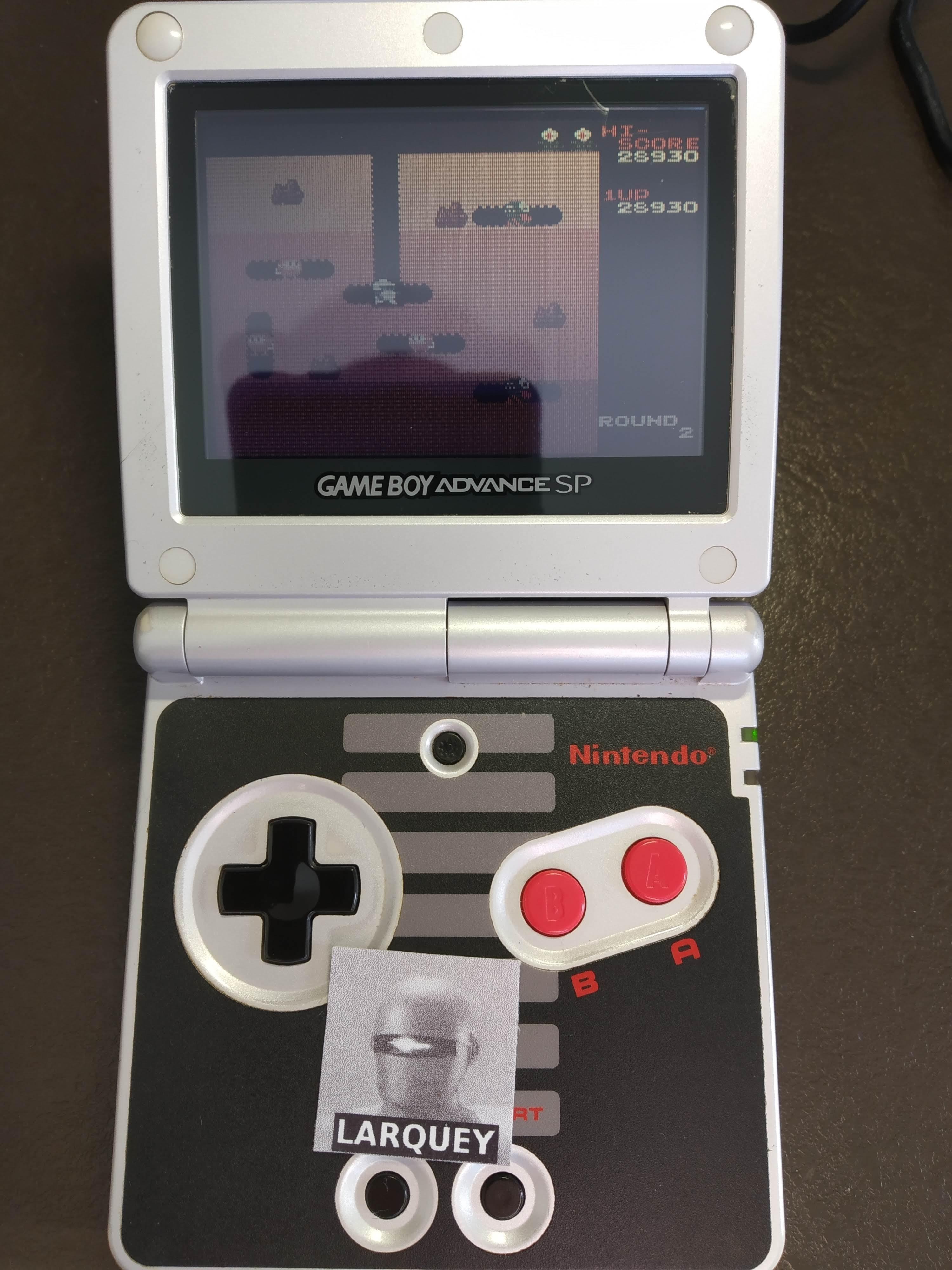 Larquey: Famicom Mini Vol. 16: Dig Dug (GBA) 28,930 points on 2019-12-27 07:11:40