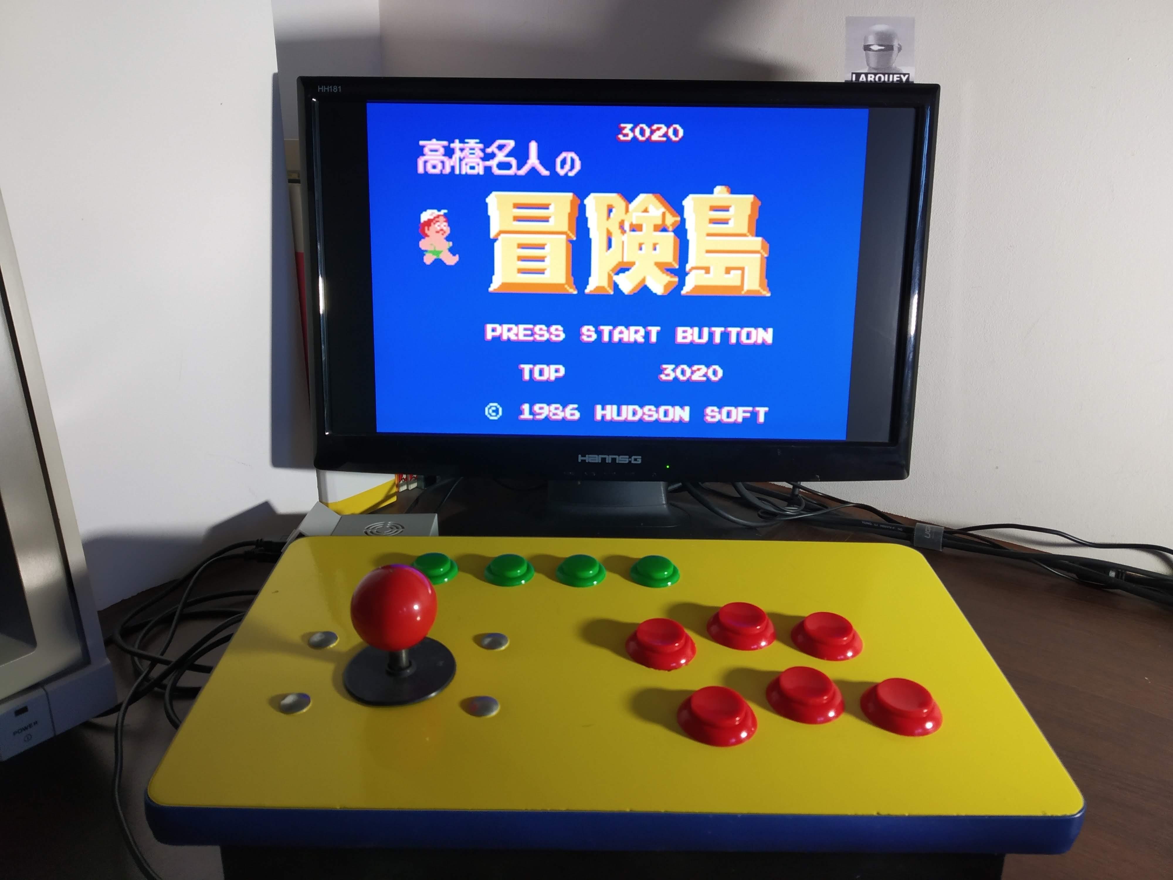 Larquey: Famicom Mini Vol. 17: Takahashi Meijin No Boukenjima (GBA Emulated) 3,020 points on 2019-12-21 08:14:12