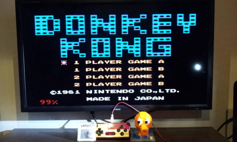 Larquey: Famicom Mini: Vol. 2: Donkey Kong [Game A] (GBA Emulated) 57,100 points on 2017-05-21 02:56:58