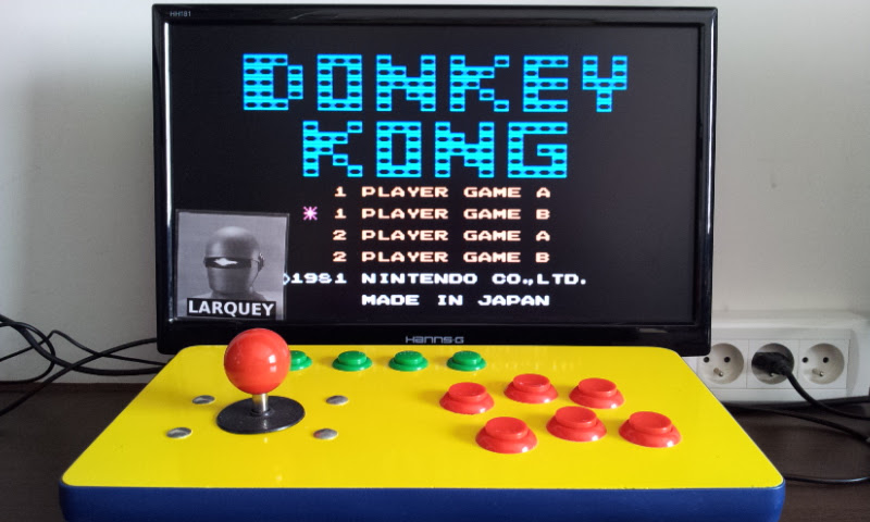 Larquey: Famicom Mini: Vol. 2: Donkey Kong [Game B] (GBA Emulated) 35,600 points on 2017-05-21 11:30:55