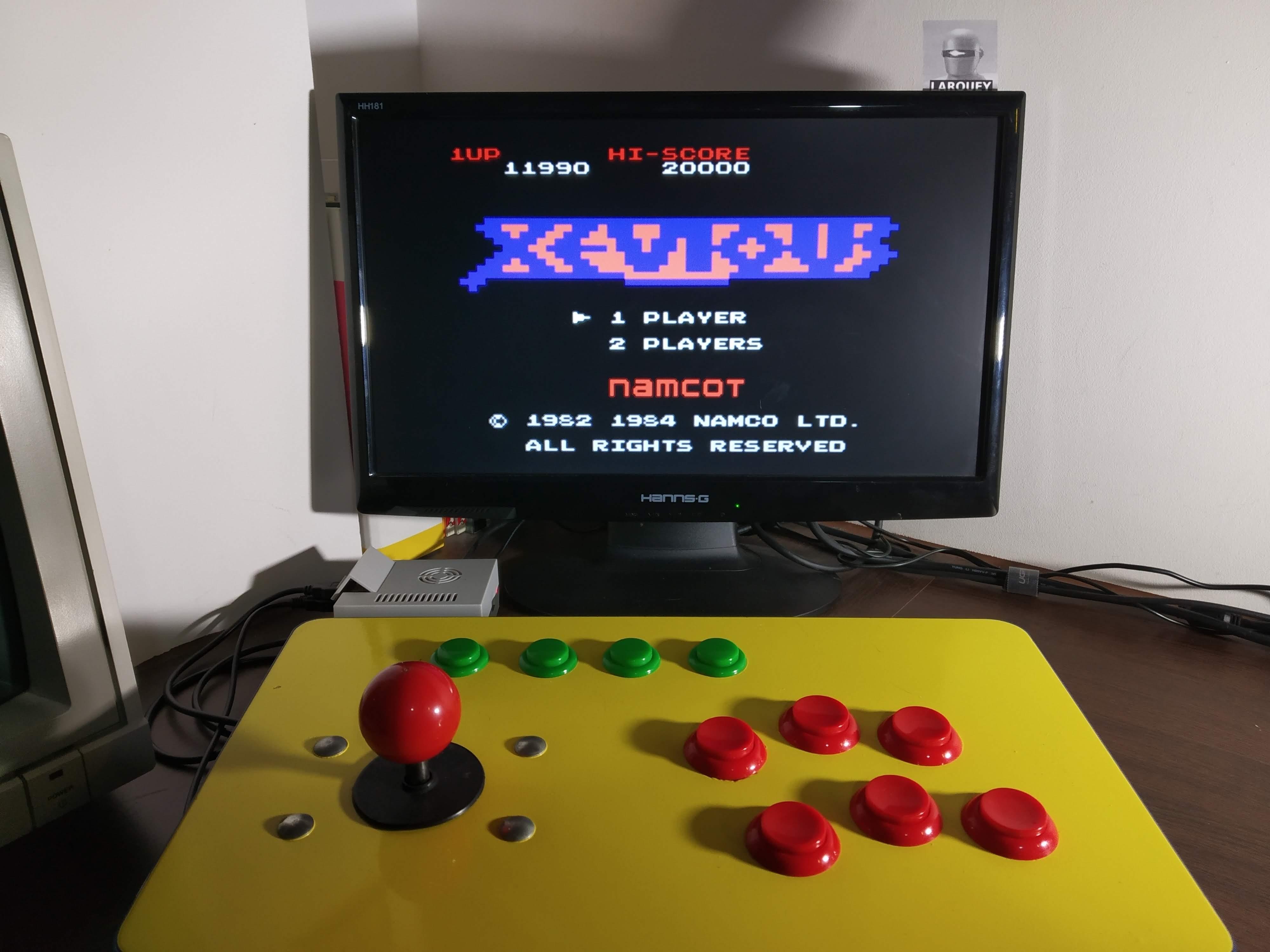 Larquey: Famicom Mini Vol. 7: Xevious (GBA Emulated) 11,990 points on 2019-12-21 08:08:27