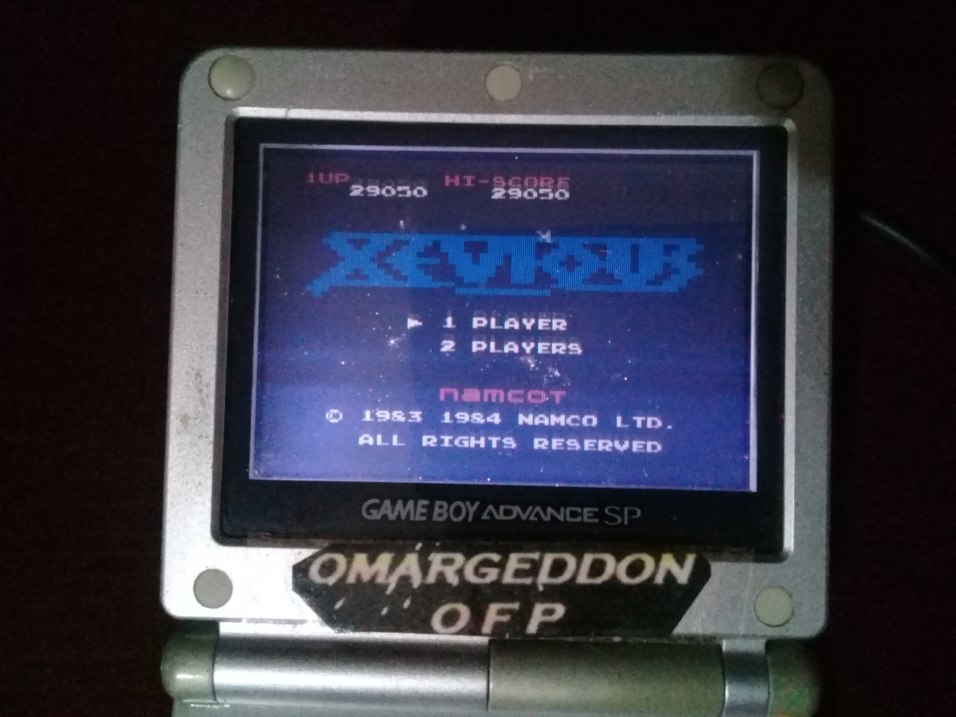 omargeddon: Famicom Mini Vol. 7: Xevious (GBA) 29,050 points on 2020-06-02 17:33:16