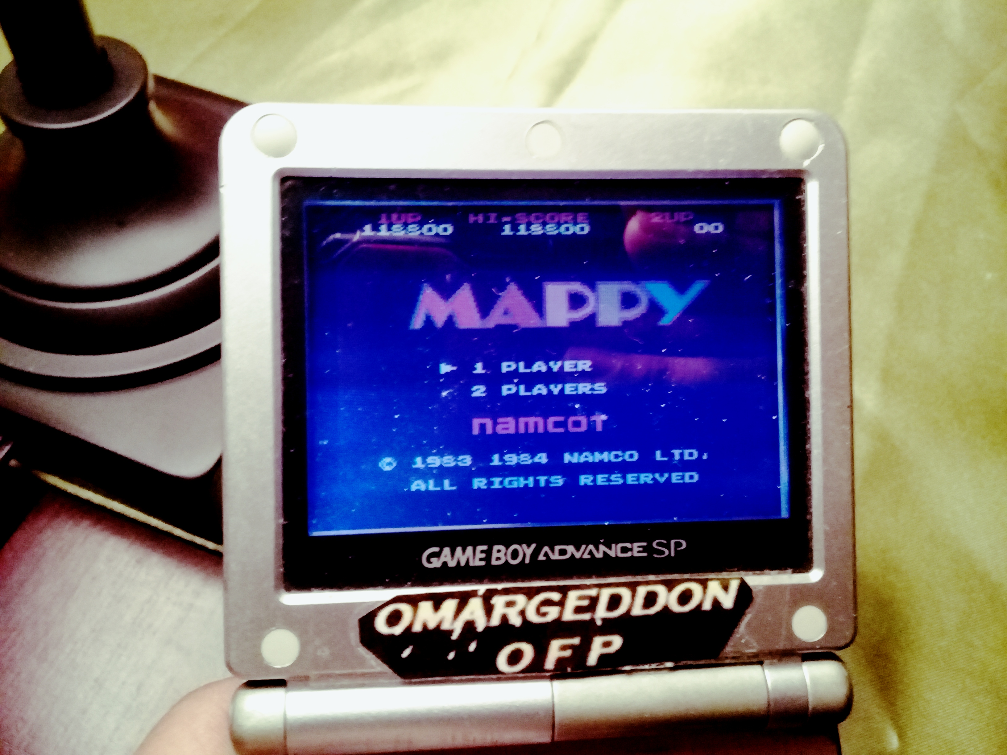 omargeddon: Famicom Mini Vol. 8: Mappy (GBA) 118,800 points on 2019-12-10 18:40:31