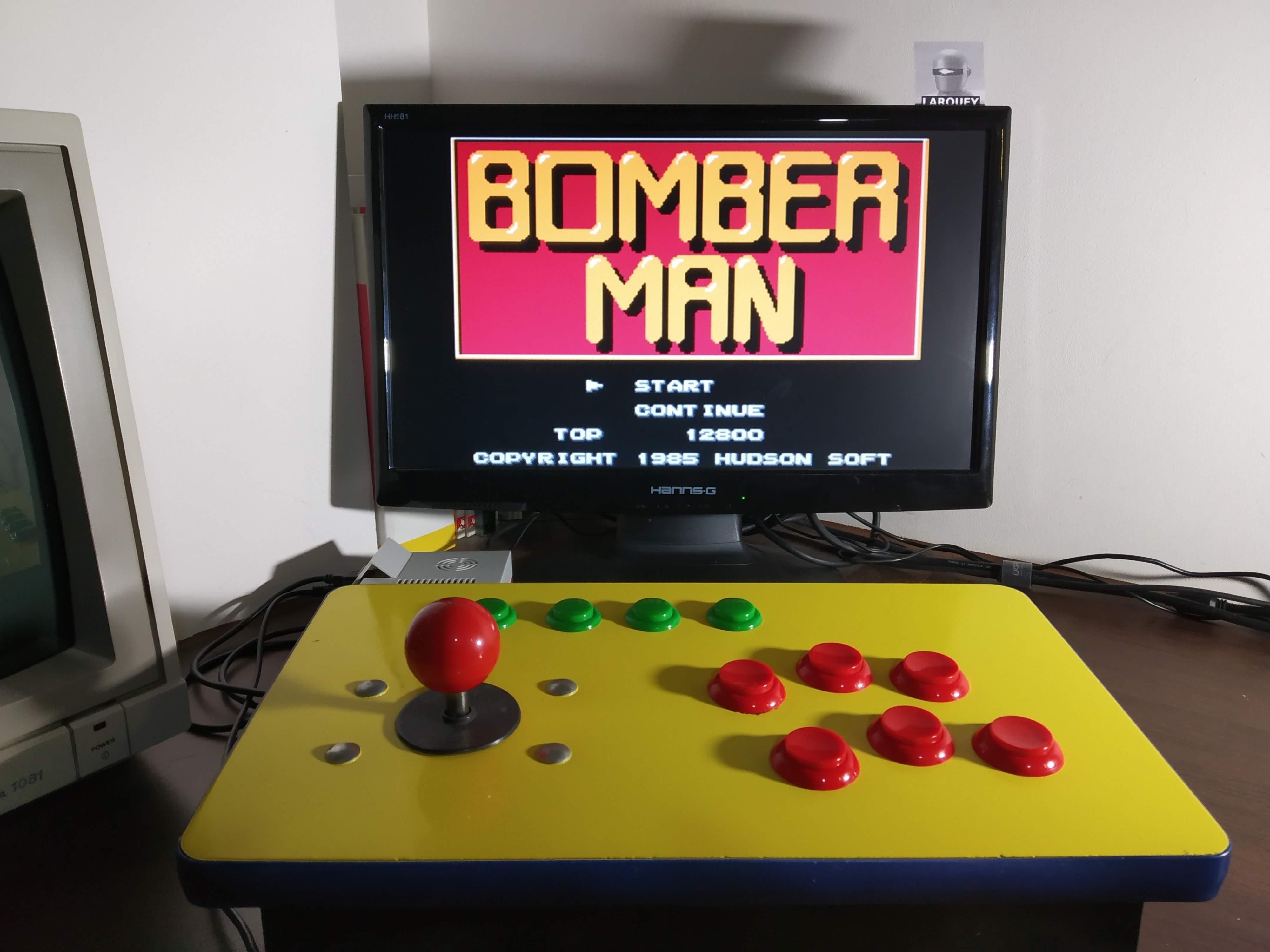 Larquey: Famicom Mini Vol. 9: Bomberman (GBA Emulated) 12,800 points on 2019-12-21 08:12:20
