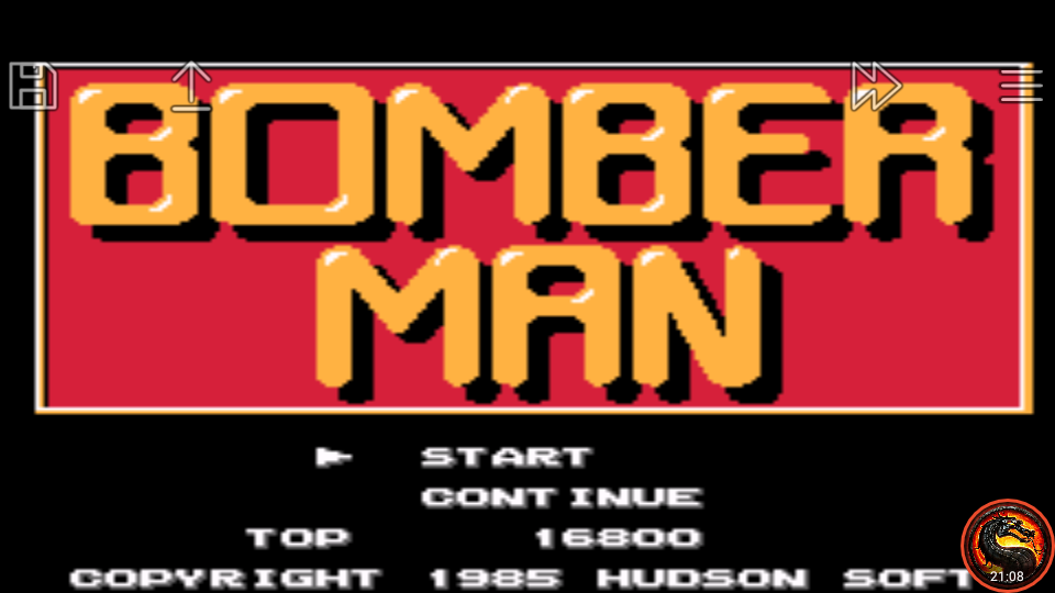omargeddon: Famicom Mini Vol. 9: Bomberman (GBA Emulated) 16,800 points on 2020-06-27 12:35:19