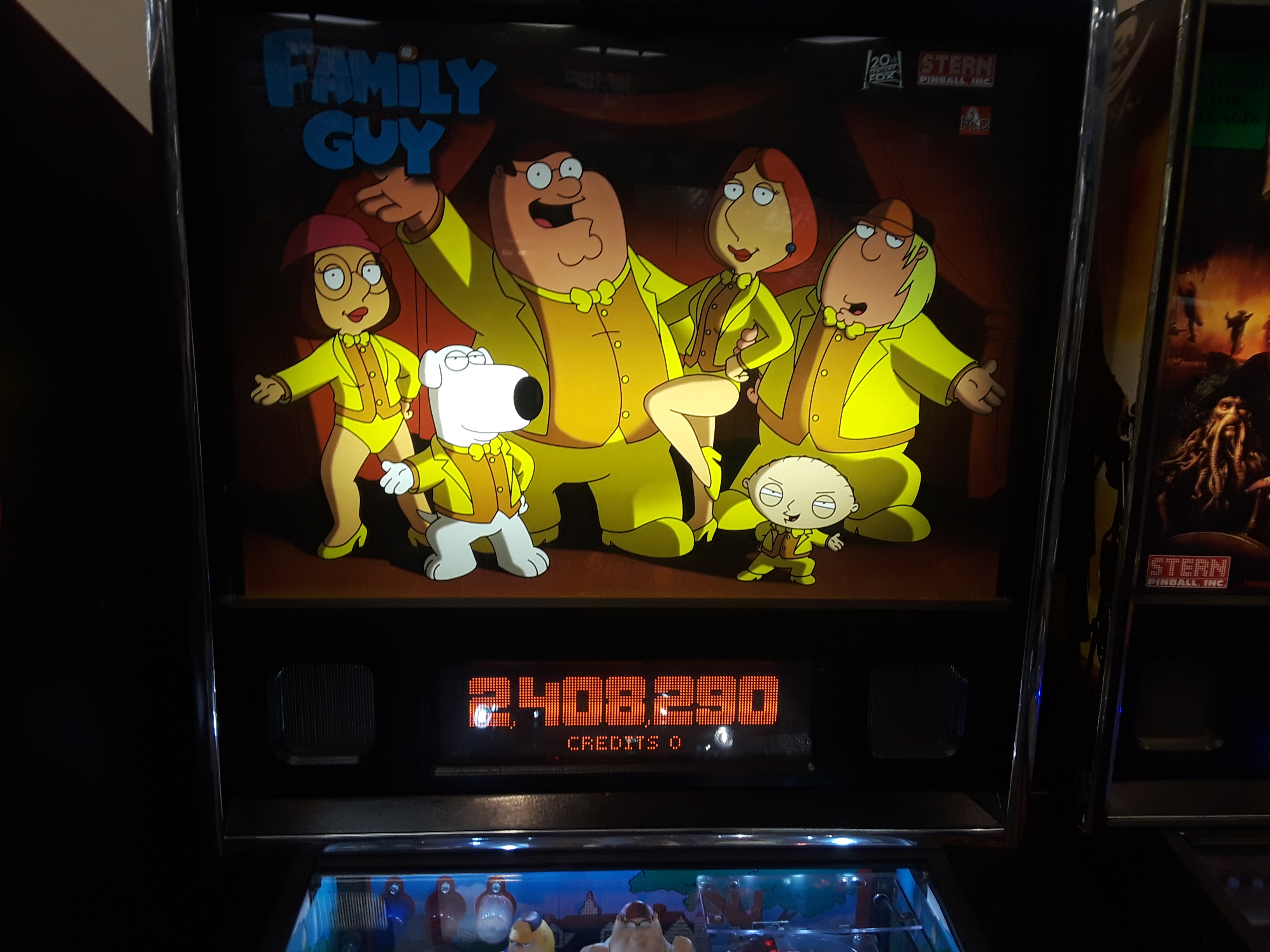 Family Guy 2,408,290 points