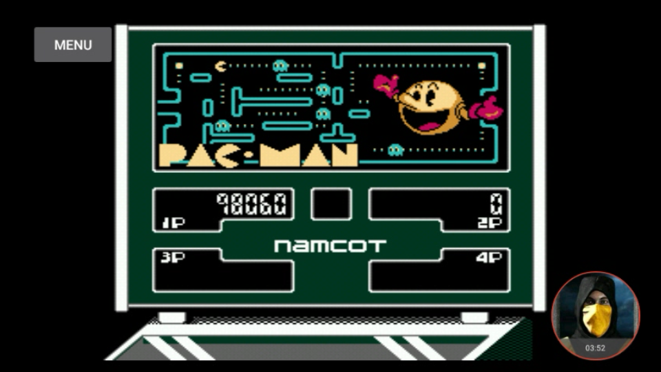 omargeddon: Family Pinball: Pac-Man (NES/Famicom Emulated) 98,060 points on 2018-03-09 13:59:21