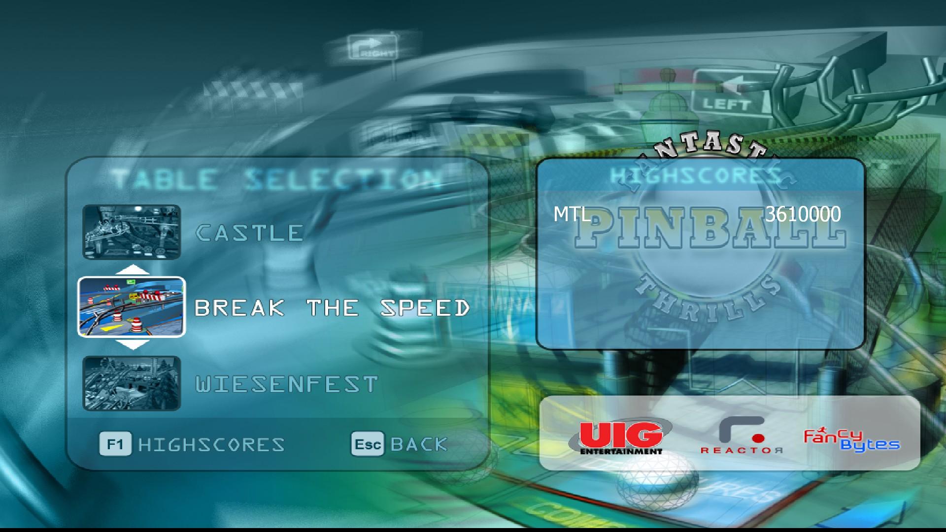 Mantalow: Fantastic Pinball Thrills: Break the Speed (PC) 3,610,000 points on 2015-10-11 03:06:31
