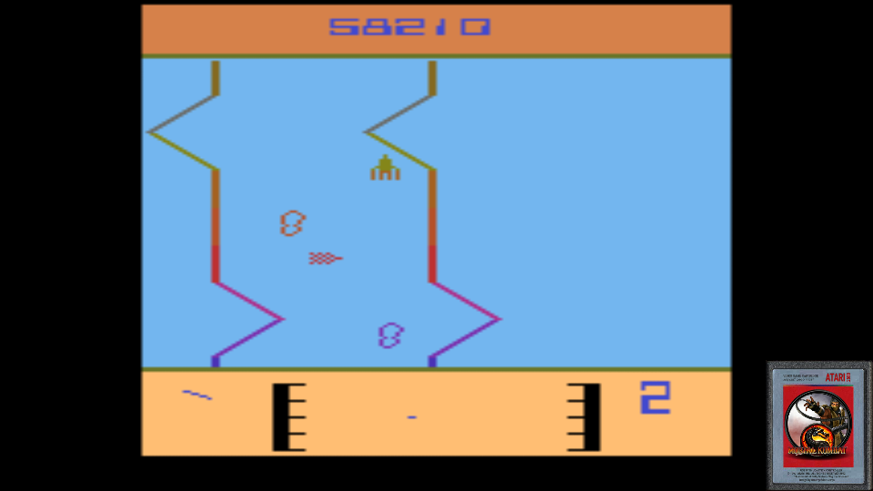 omargeddon: Fantastic Voyage (Atari 2600 Emulated) 58,210 points on 2017-06-16 00:27:58