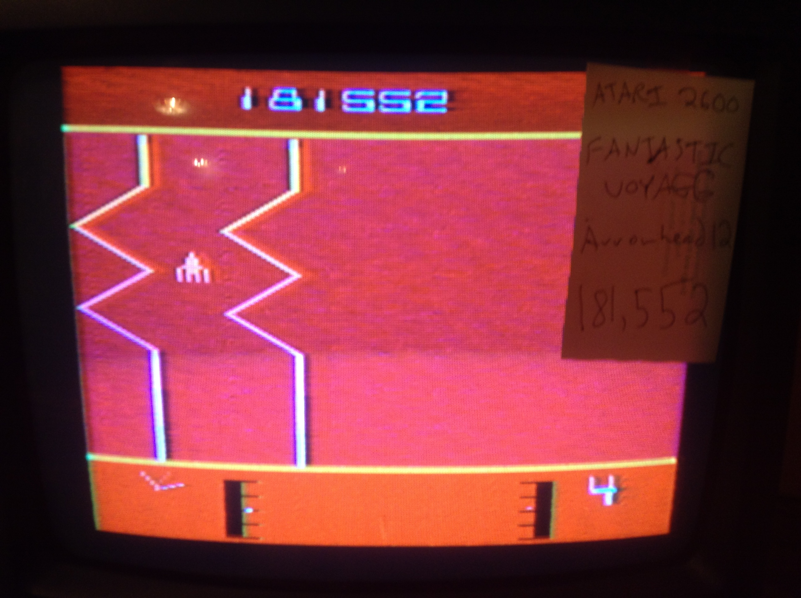 Arrowhead12: Fantastic Voyage (Atari 2600) 181,552 points on 2018-10-21 21:59:05