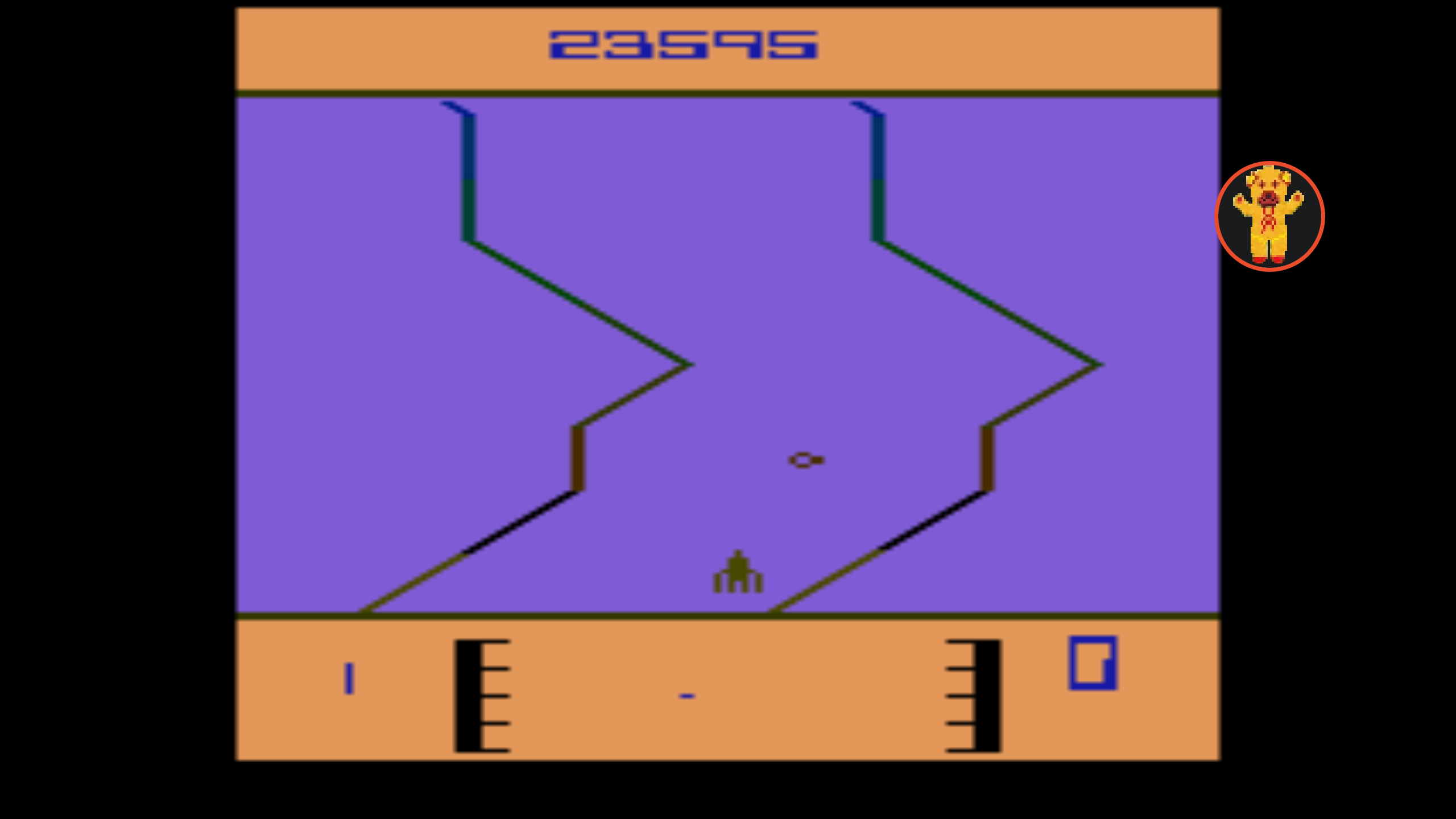 Bamse: Fantastic Voyage [Game 2] (Atari 2600 Emulated) 23,595 points on 2019-12-01 04:23:11