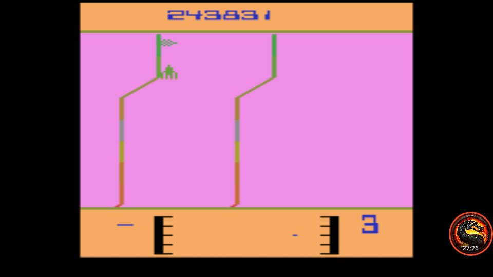omargeddon: Fantastic Voyage [Game 2] (Atari 2600 Emulated) 243,831 points on 2020-05-26 01:49:34