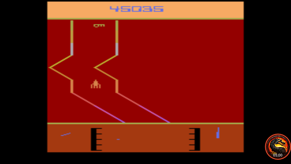 omargeddon: Fantastic Voyage [Game 3] (Atari 2600 Emulated) 45,035 points on 2020-05-27 00:56:10