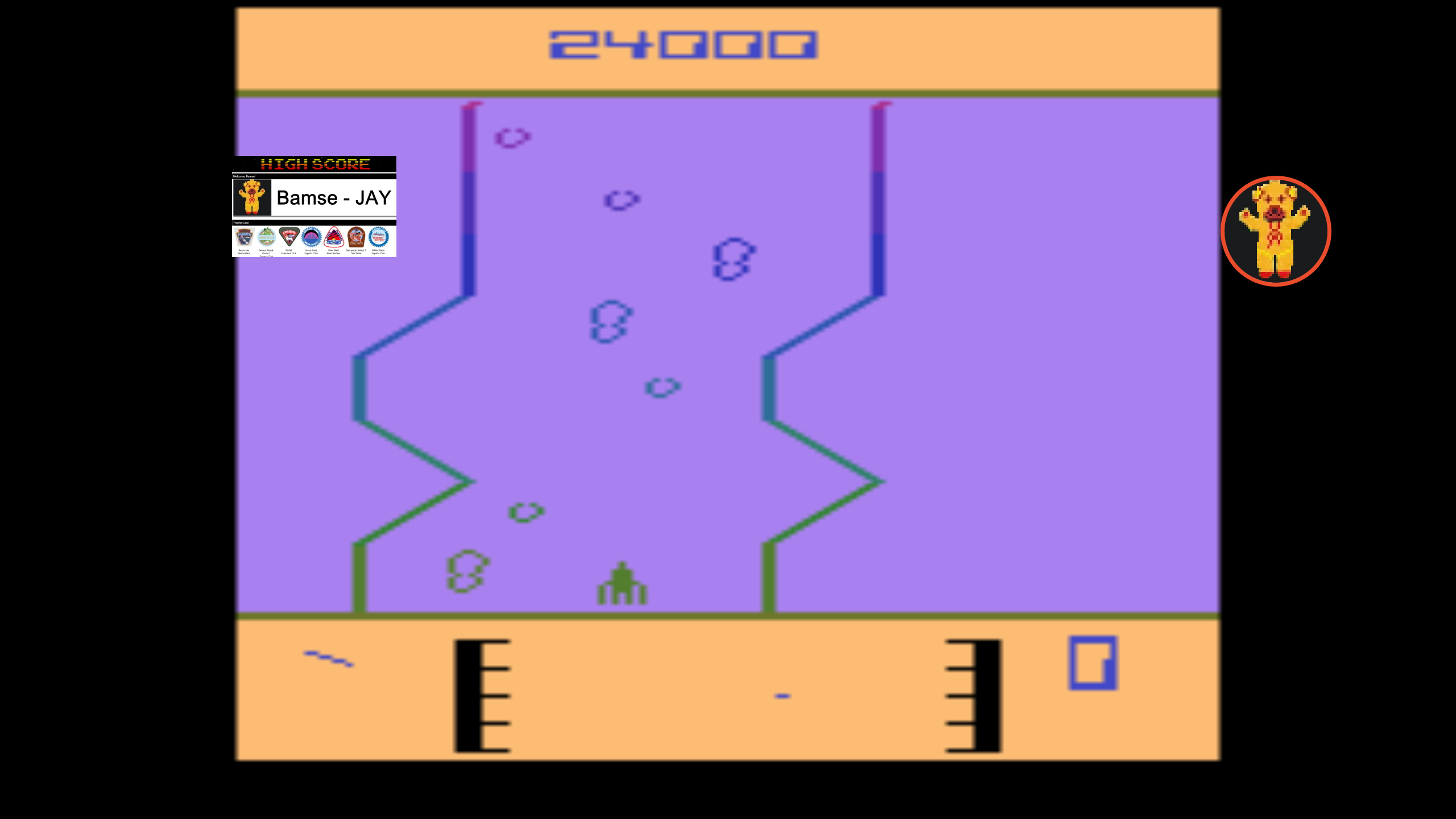 Bamse: Fantastic Voyage [Game 4] (Atari 2600 Emulated) 24,000 points on 2019-12-01 04:27:18