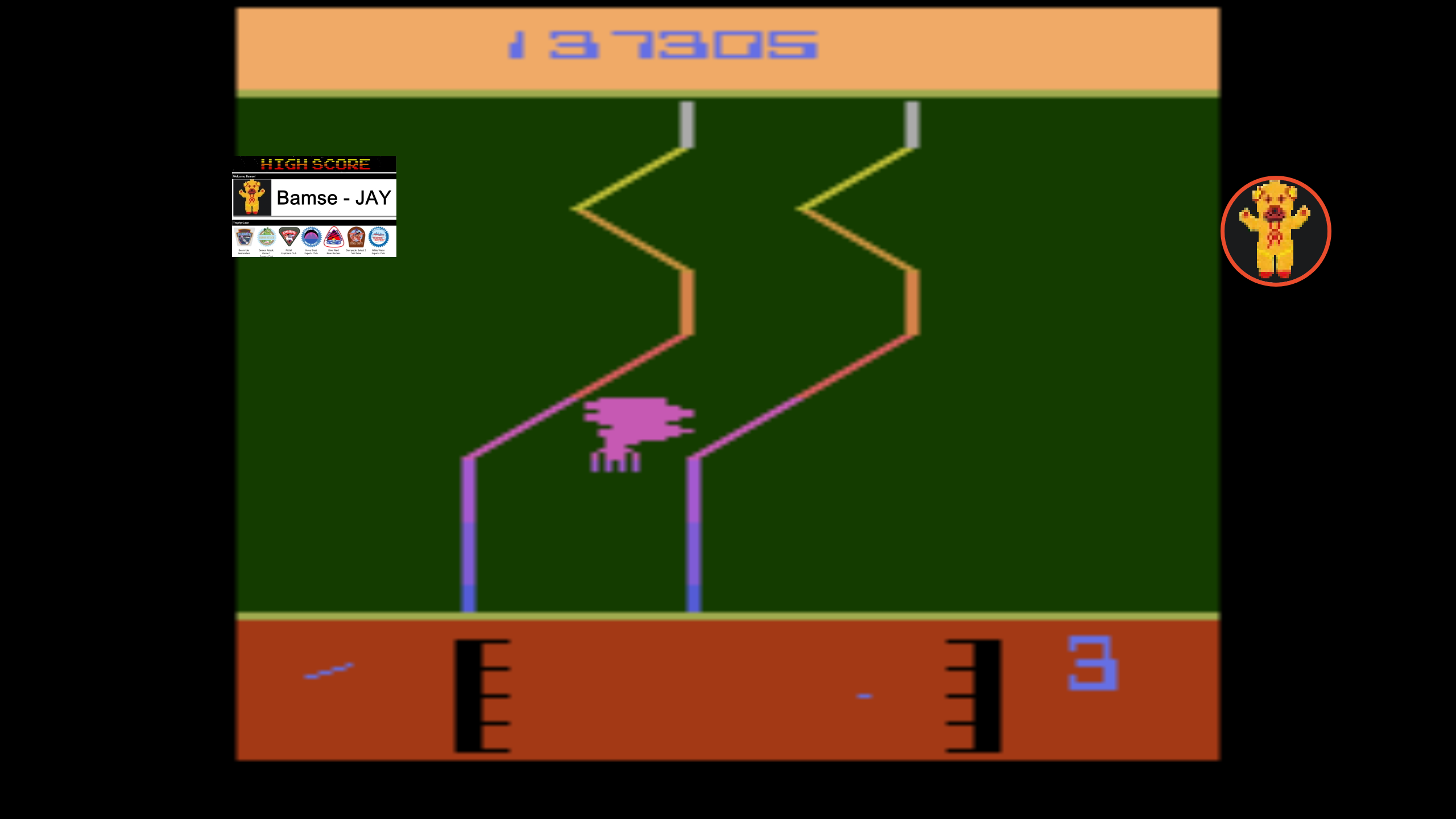 Bamse: Fantastic Voyage [Game 5] (Atari 2600 Emulated) 137,305 points on 2019-12-01 04:28:14