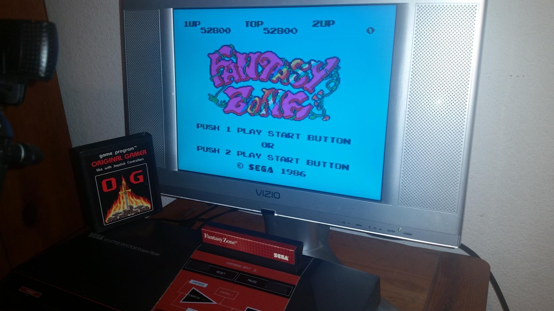OriginalGamer: Fantasy Zone (Sega Master System) 52,800 points on 2016-11-17 23:29:51