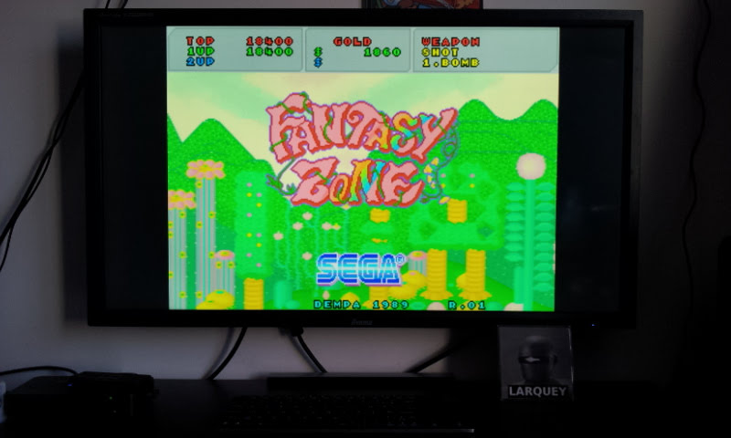 Larquey: Fantasy Zone (Sharp X68000 Emulated) 18,400 points on 2018-02-22 08:04:50