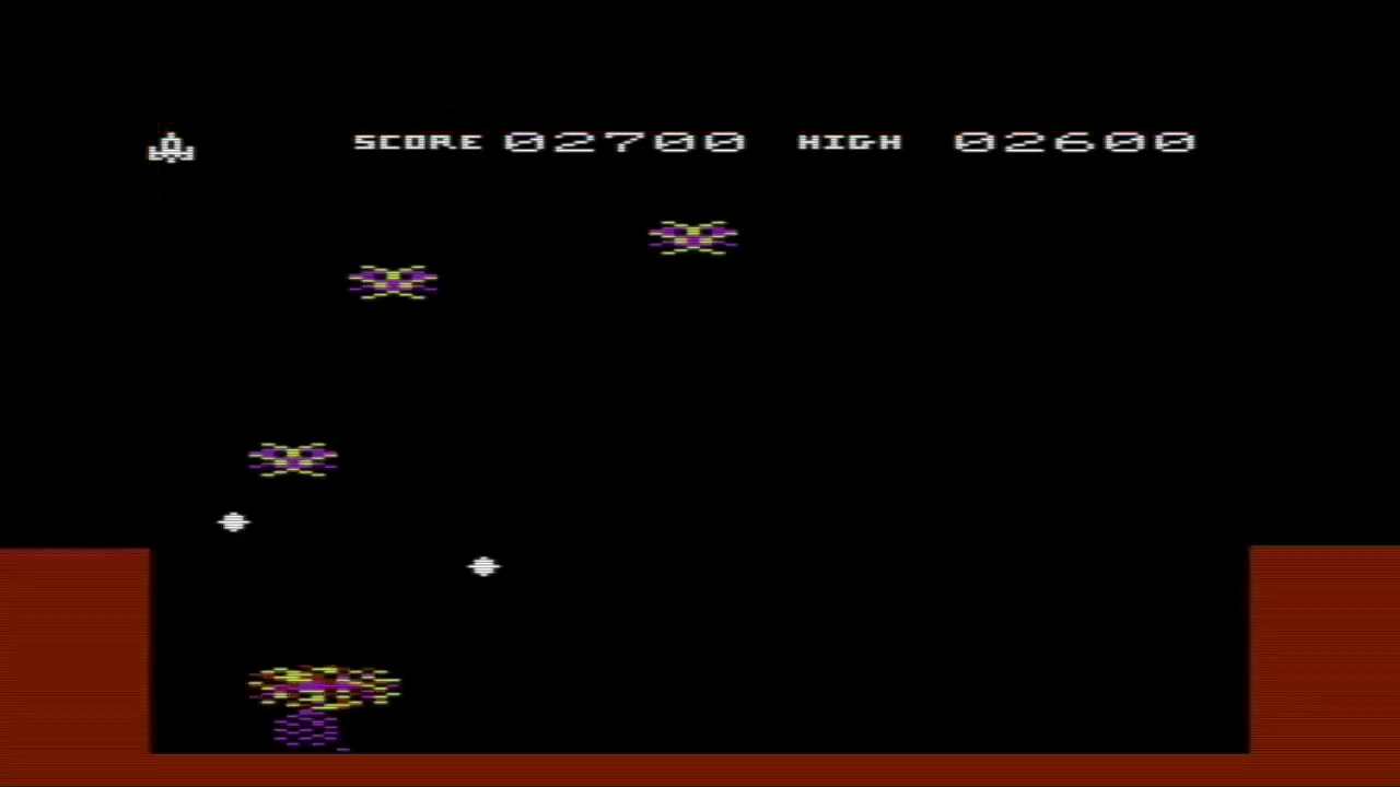 GTibel: Fantazia (Commodore VIC-20 Emulated) 2,700 points on 2018-01-25 12:39:10