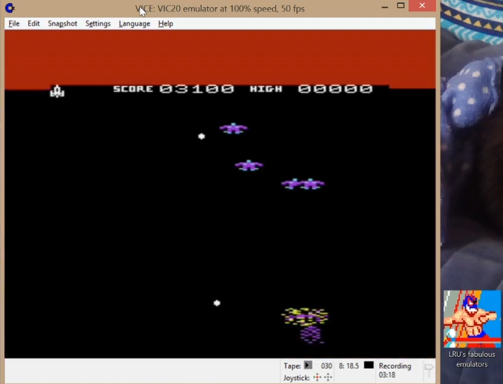 LuigiRuffolo: Fantazia (Commodore VIC-20 Emulated) 3,100 points on 2020-06-24 05:50:34