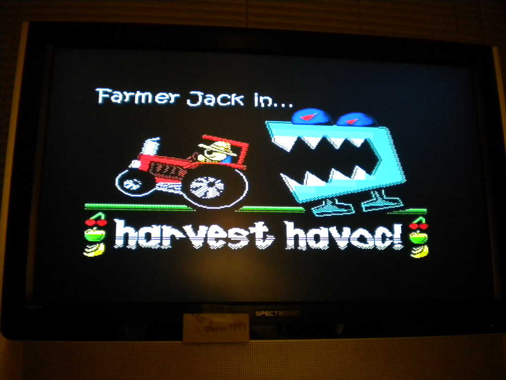 Farmer Jack In Harvest Havoc! 10,200 points