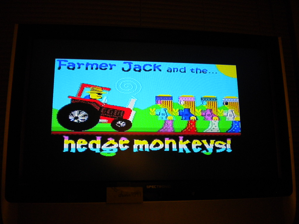 Farmer Jack and the Hedge Monkeys! 6,880 points
