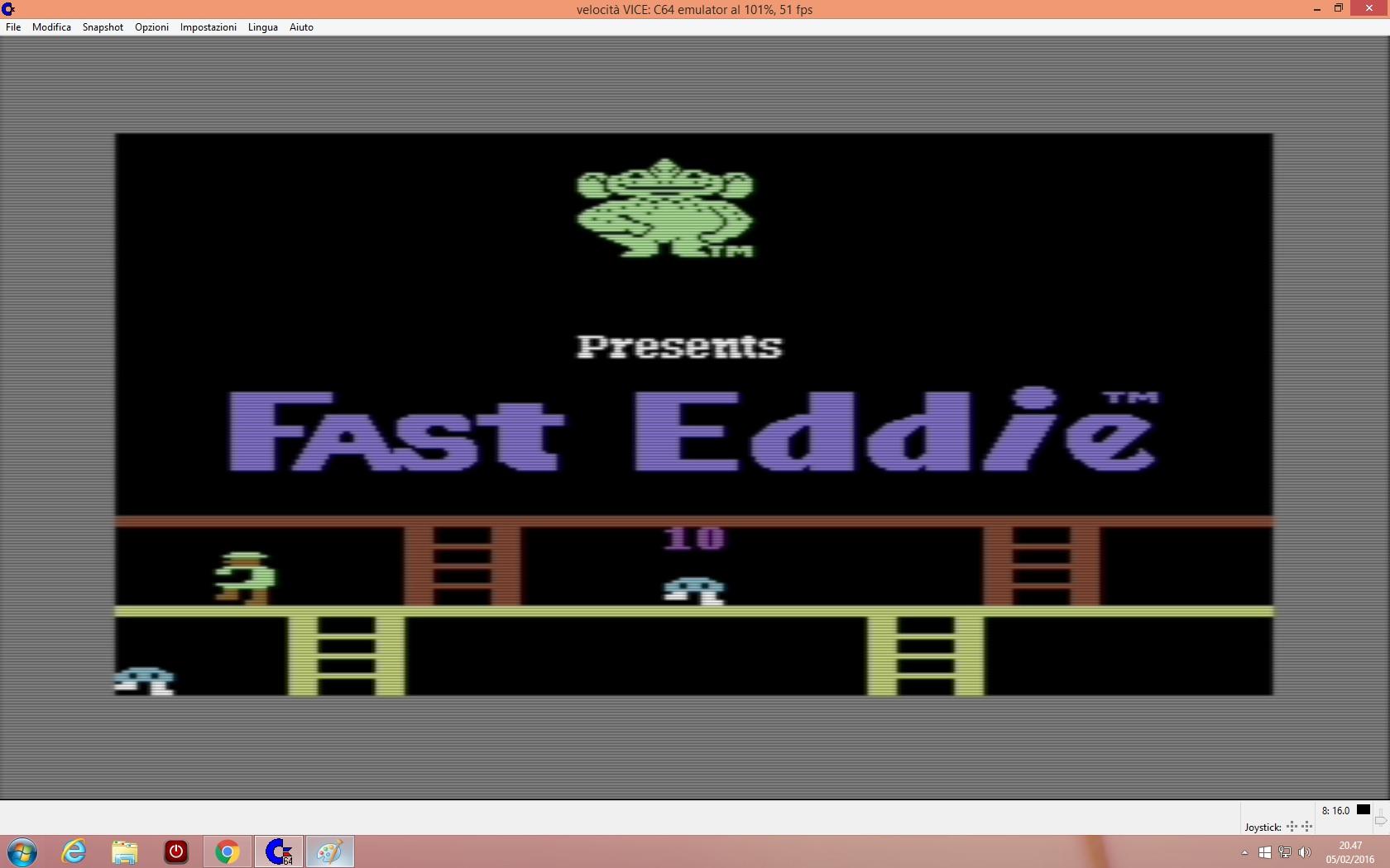 Fast Eddie 6,300 points