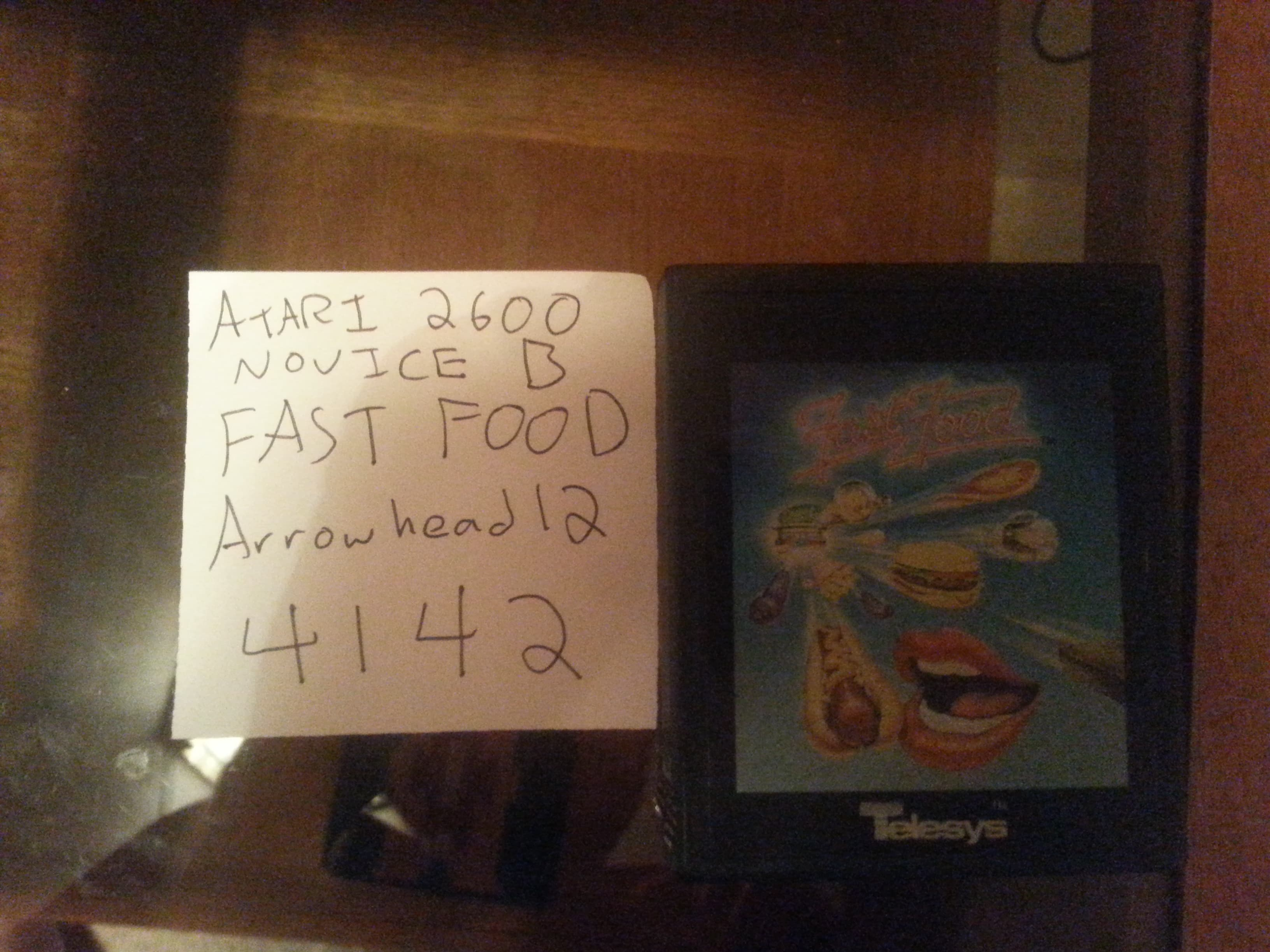Fast Food 4,142 points