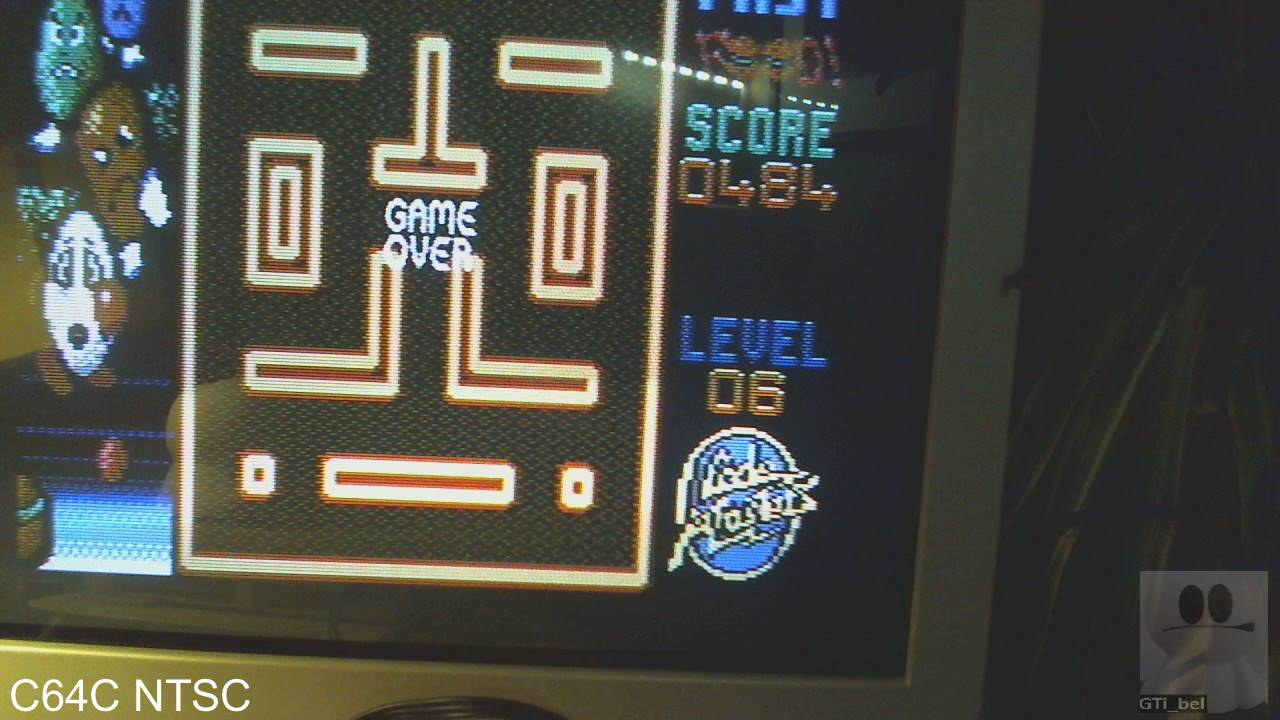 GTibel: Fast Food (Commodore 64) 484 points on 2020-01-31 03:07:58