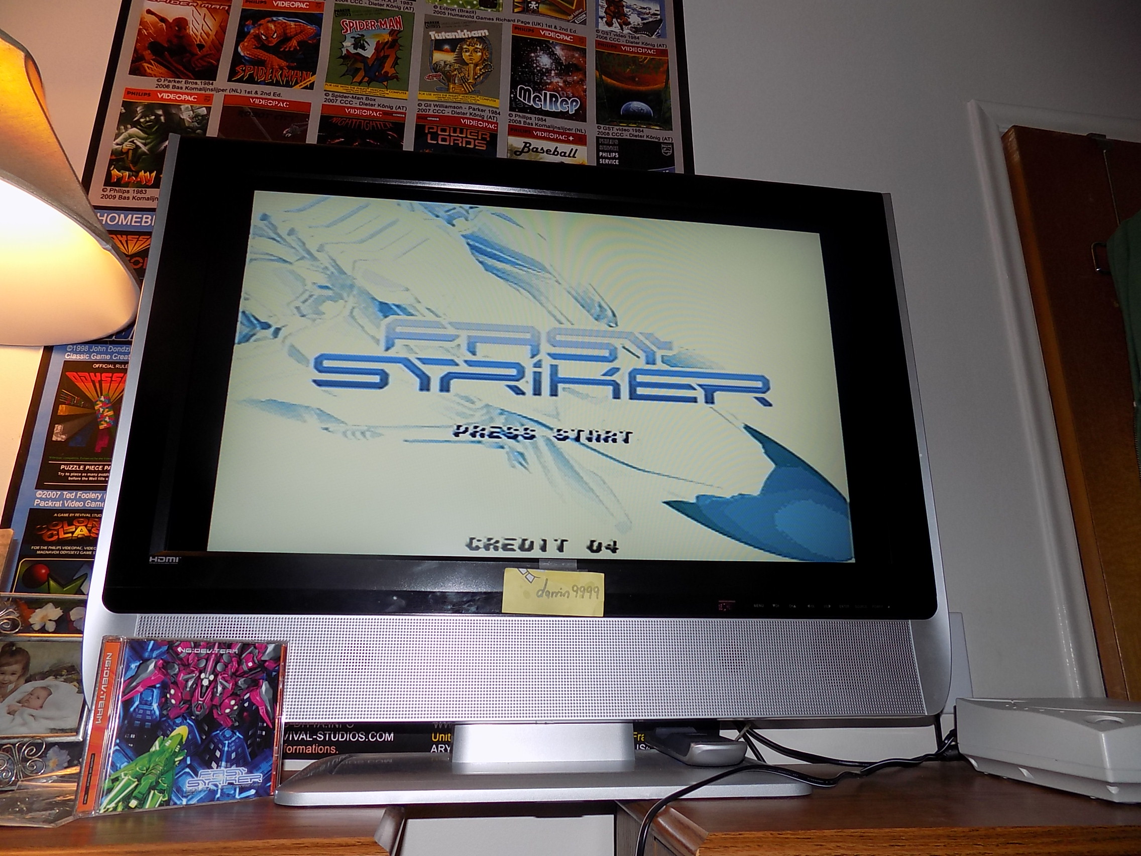 darrin9999: Fast Striker: Original Mode (Dreamcast) 37,477,410 points on 2018-01-23 16:53:39