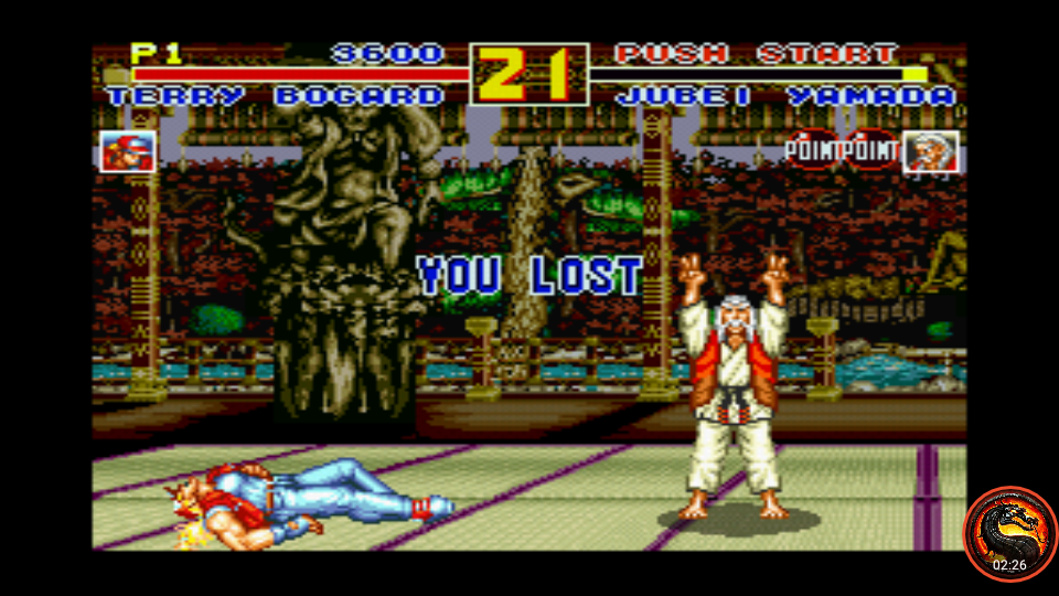 omargeddon: Fatal Fury Special / Garou Densetsu Special (SNES/Super Famicom Emulated) 3,600 points on 2020-09-10 15:40:37
