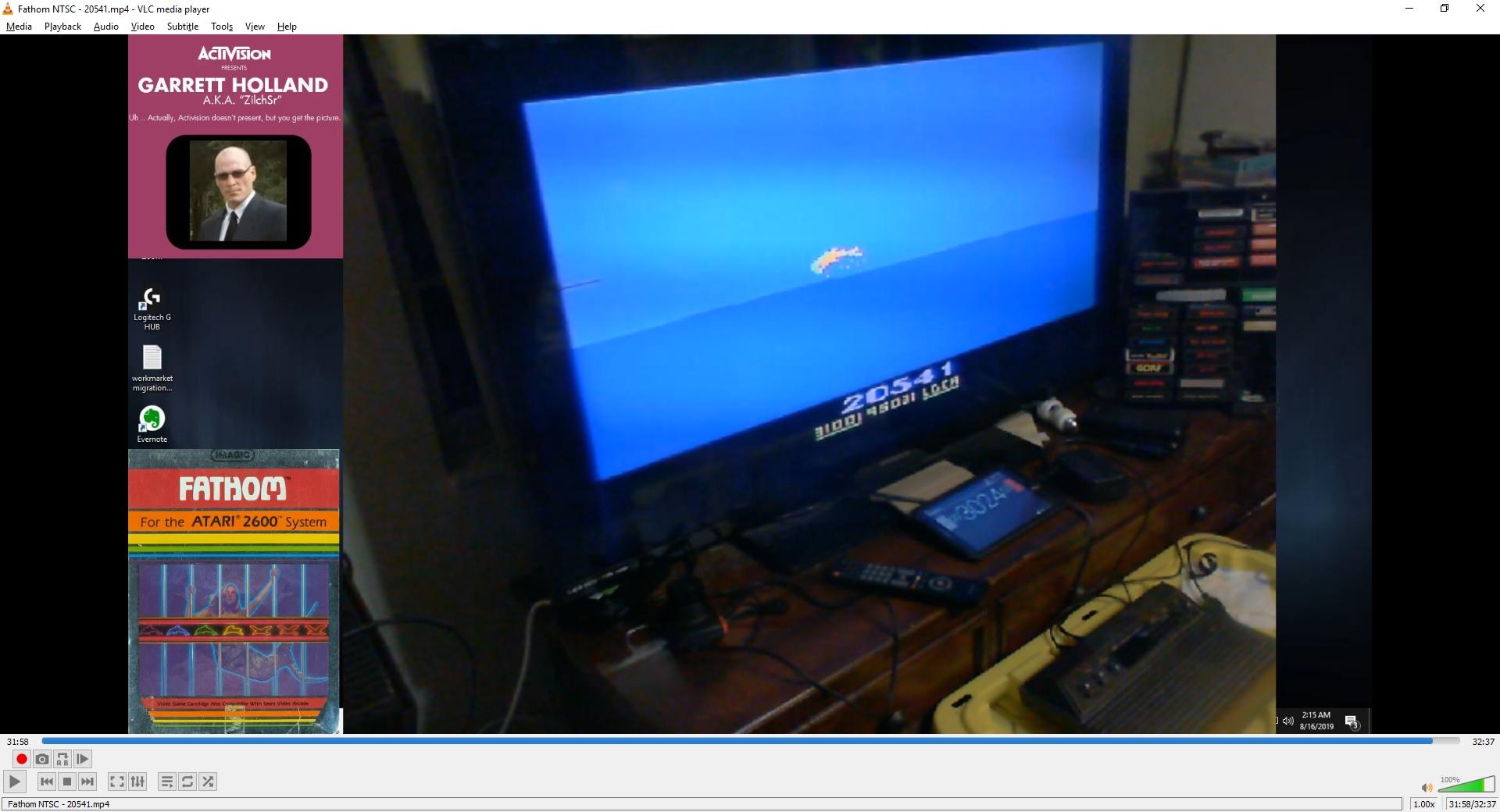 ZilchSr: Fathom (Atari 2600) 20,541 points on 2019-08-16 15:53:02