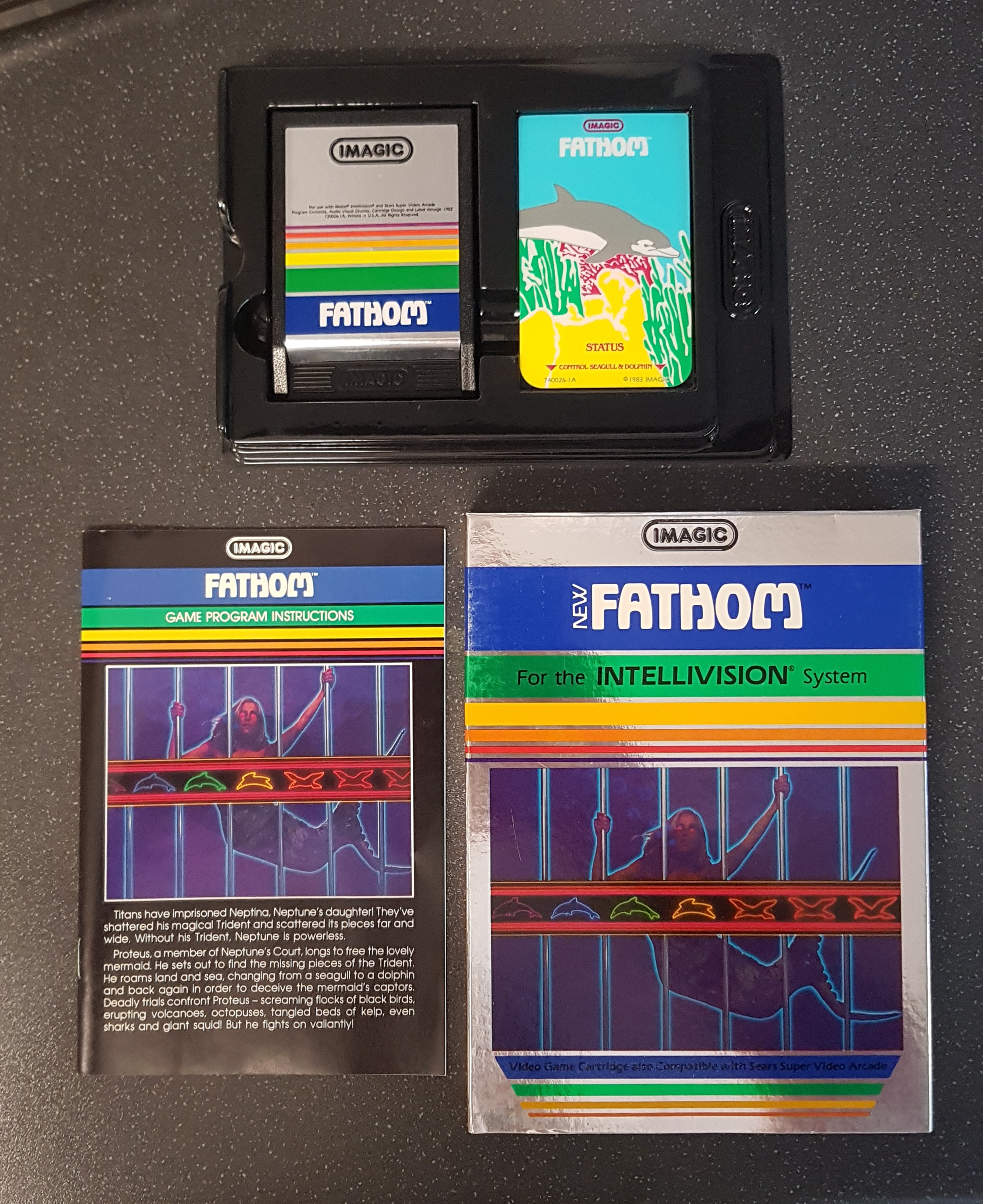 Bamse: Fathom (Intellivision) 274 points on 2019-09-01 12:17:55