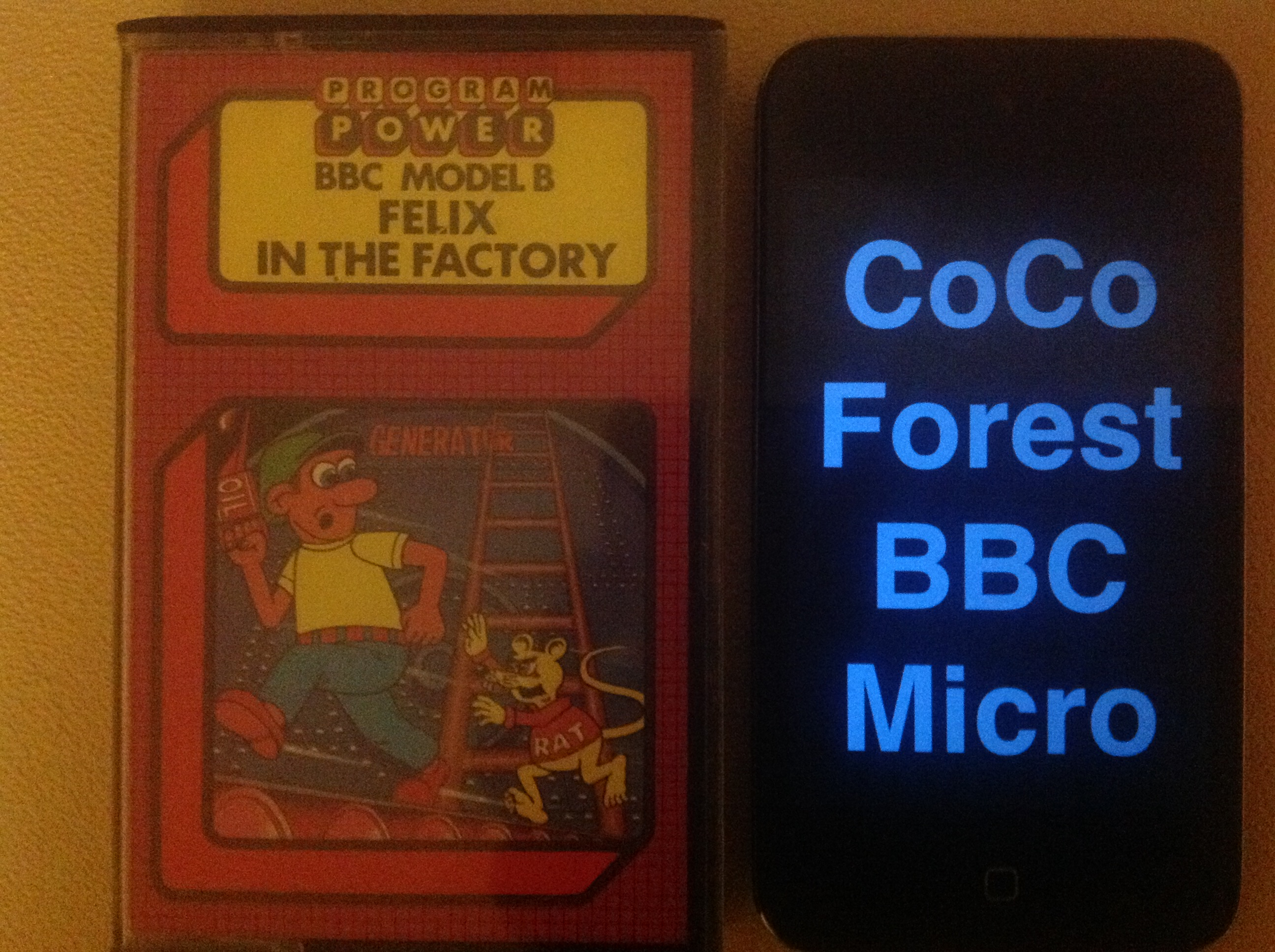 CoCoForest: Felix In The Factory (BBC Micro) 5,300 points on 2015-11-24 12:21:13