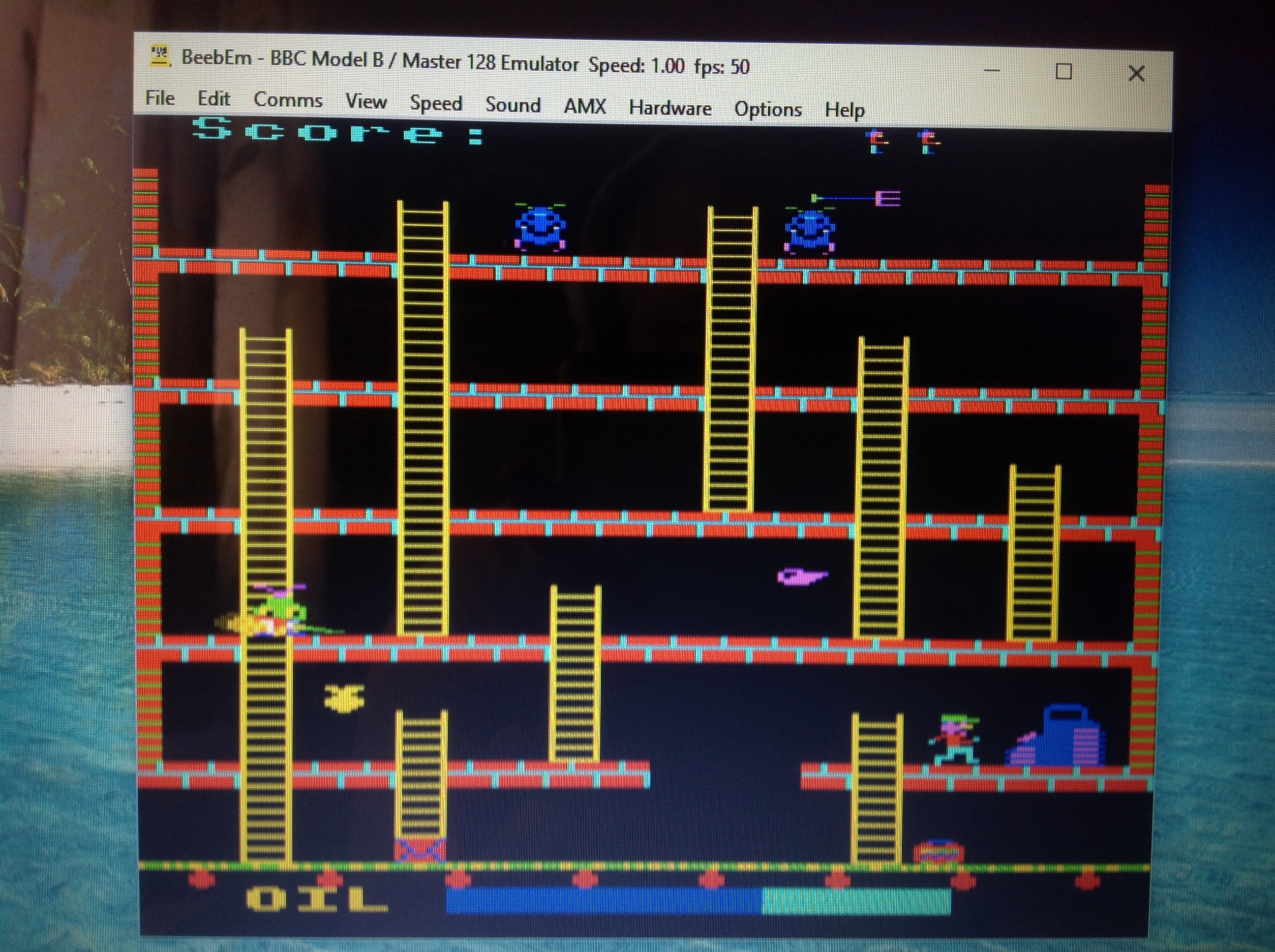 CoCoForest: Felix In The Factory (BBC Micro Emulated) 3,700 points on 2017-08-07 03:37:21