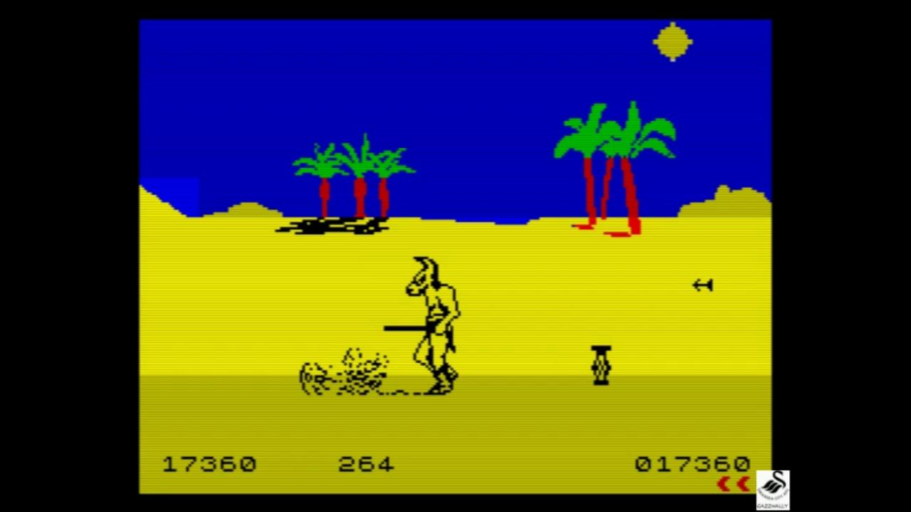 gazzhally: Fighting Warrior (ZX Spectrum Emulated) 17,360 points on 2018-11-01 14:57:48