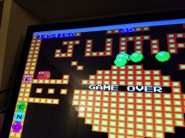 JES: Final Bubble Bobble (Sega Master System Emulated) 1,454,180 points on 2019-01-28 14:26:06