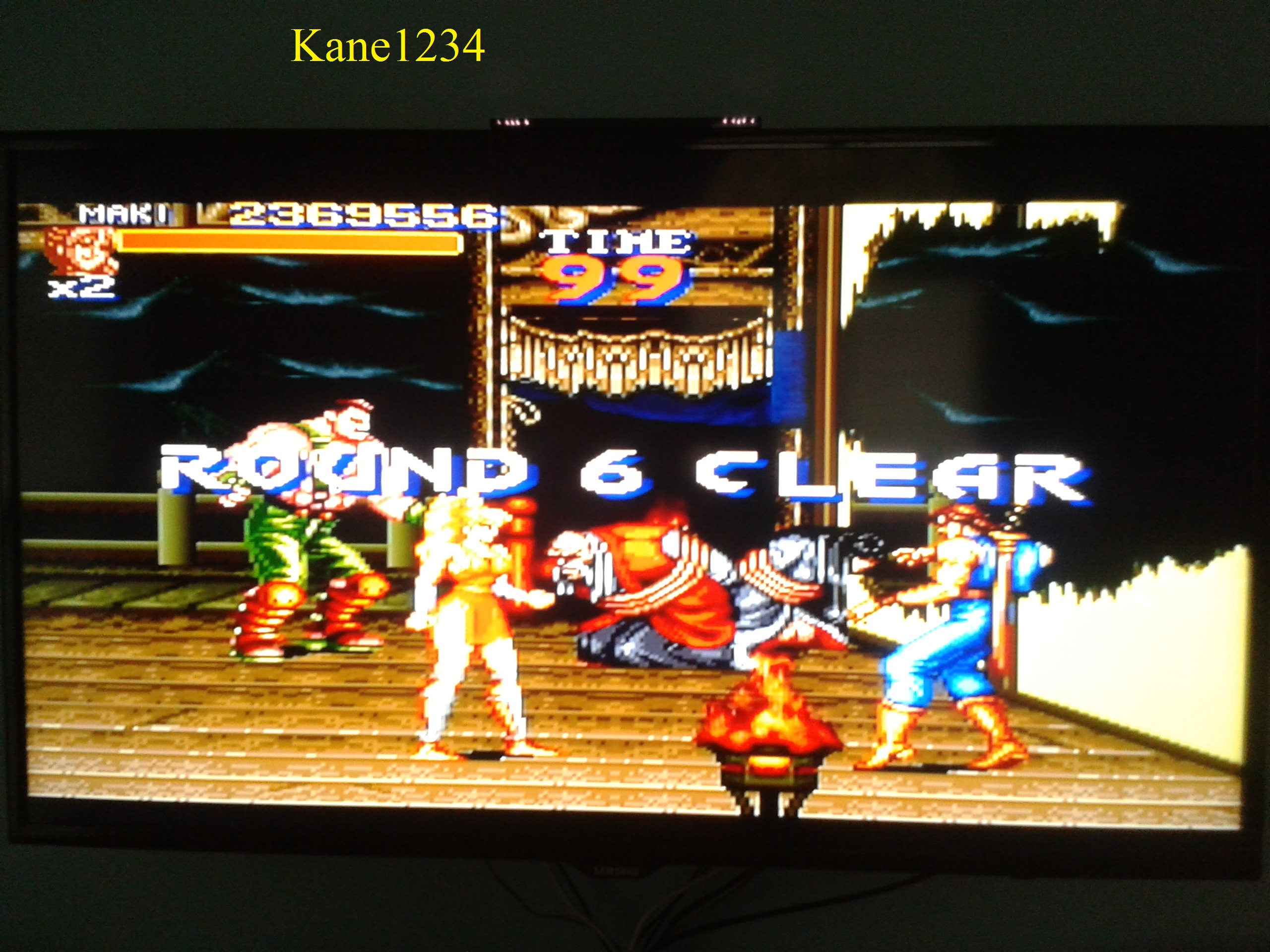 Final Fight 2 [Continues Allowed] 2,369,556 points